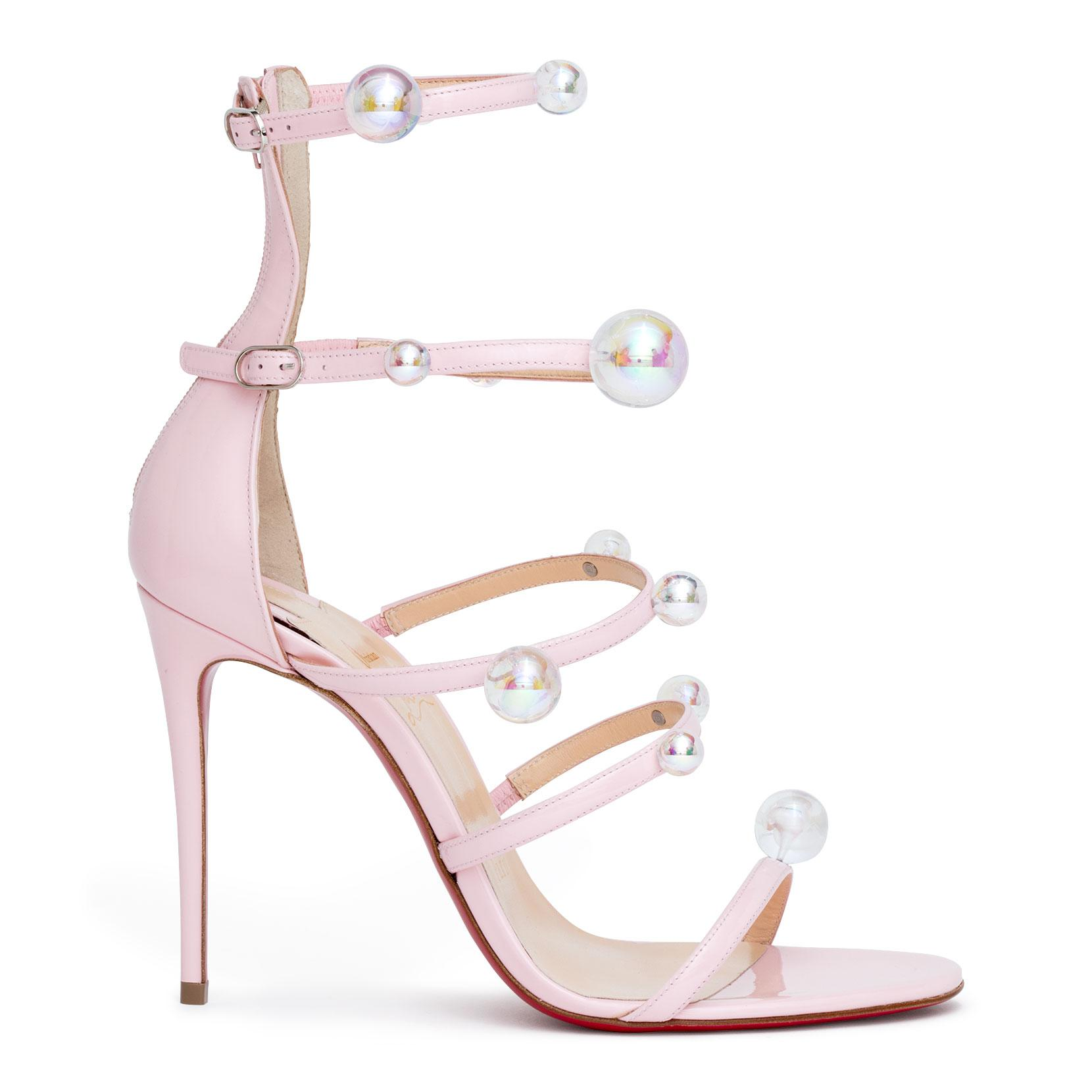 pink Atonana 100 leather sandals Christian Louboutin aDOuivW0T
