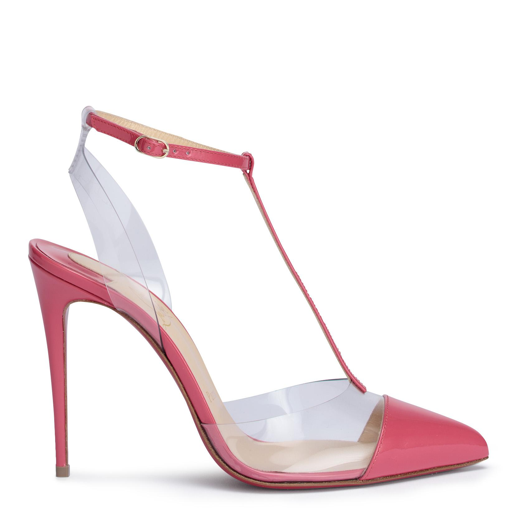 Nosy 100 patent pink pumps Christian Louboutin 2olzcXQnE