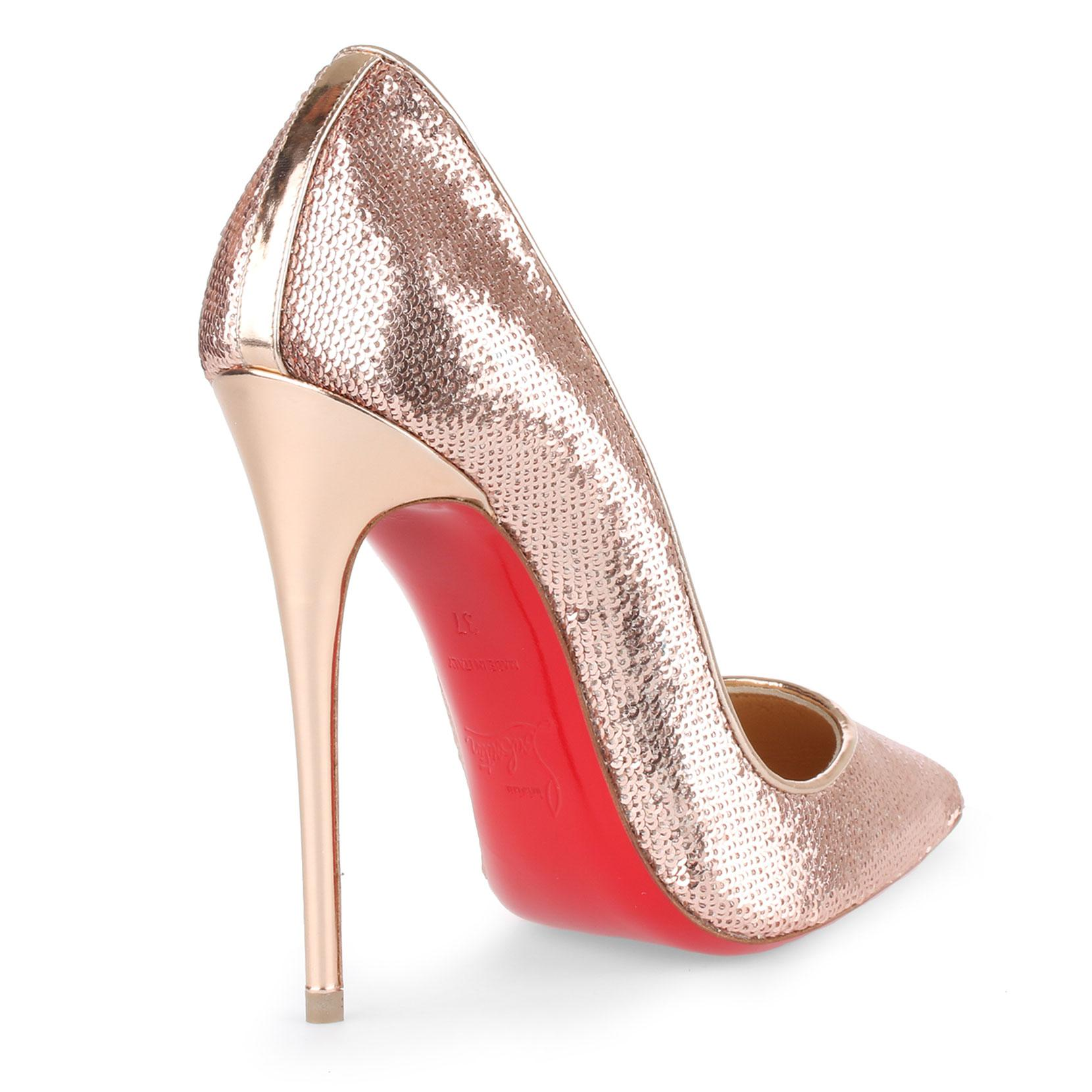 So Kate 120 blush sequin pumps Christian Louboutin Good Selling For Sale Shop Sale Online FYHlj