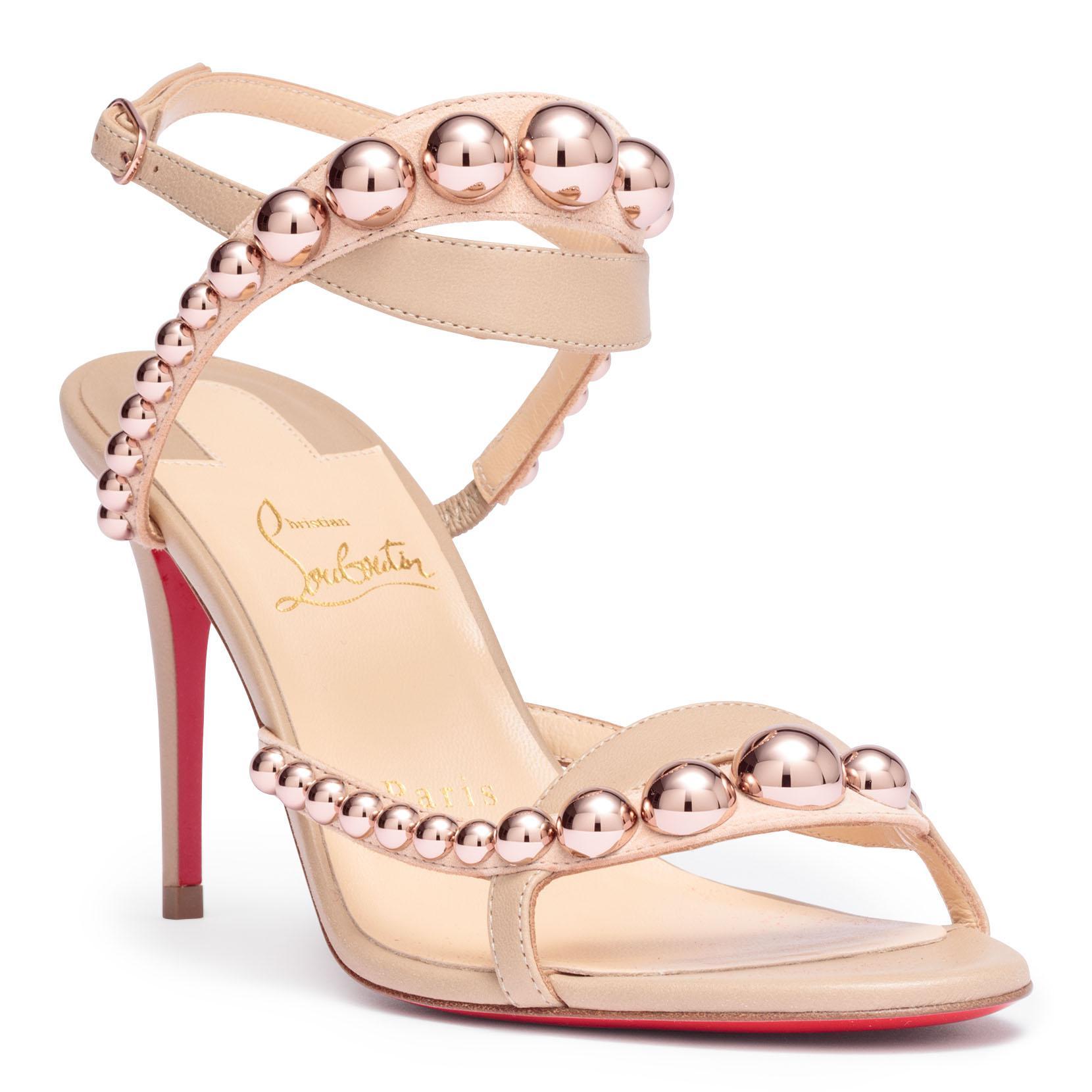 Galeria 85 nappa beige sandals Christian Louboutin ifn30gl8q