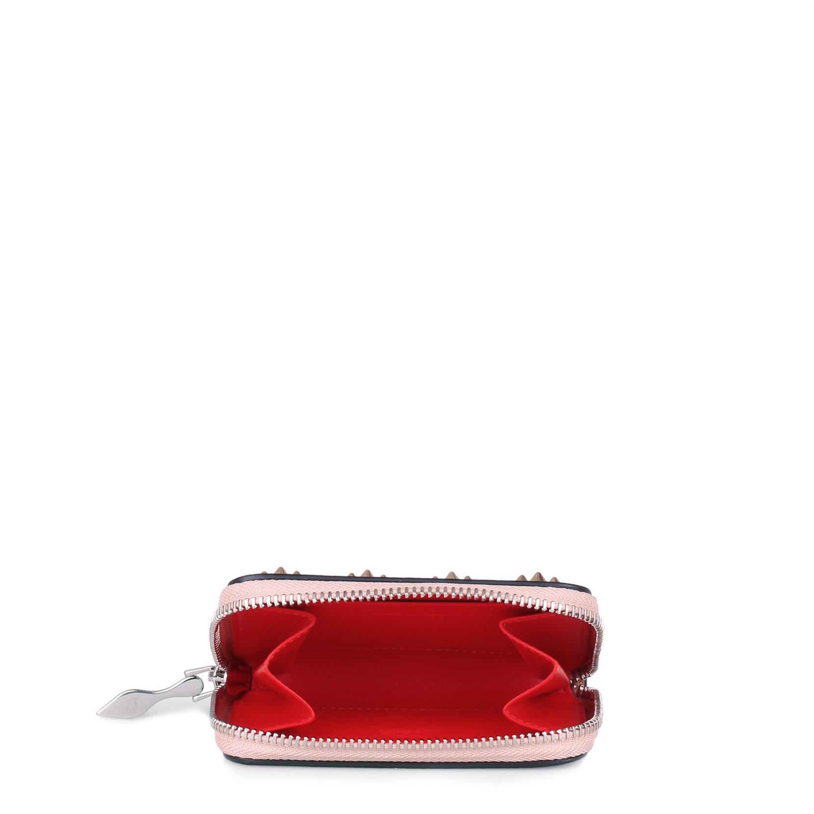 Panettone nude multi-spikes coin purse Christian Louboutin