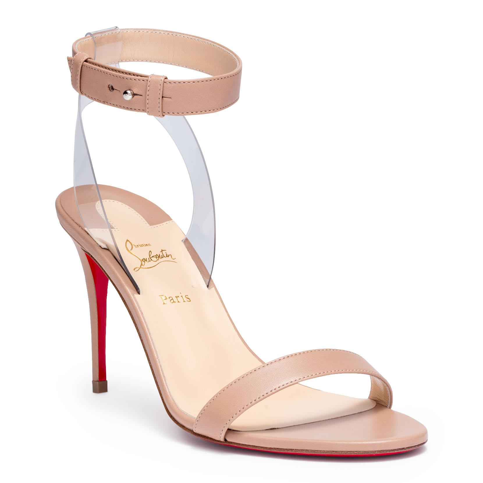 31c84bec92e6 coupon code for lyst christian louboutin patinana strass red sole sandal in  pink c54e3 db6eb  order christian louboutin. womens natural jonatina 85  beige ...