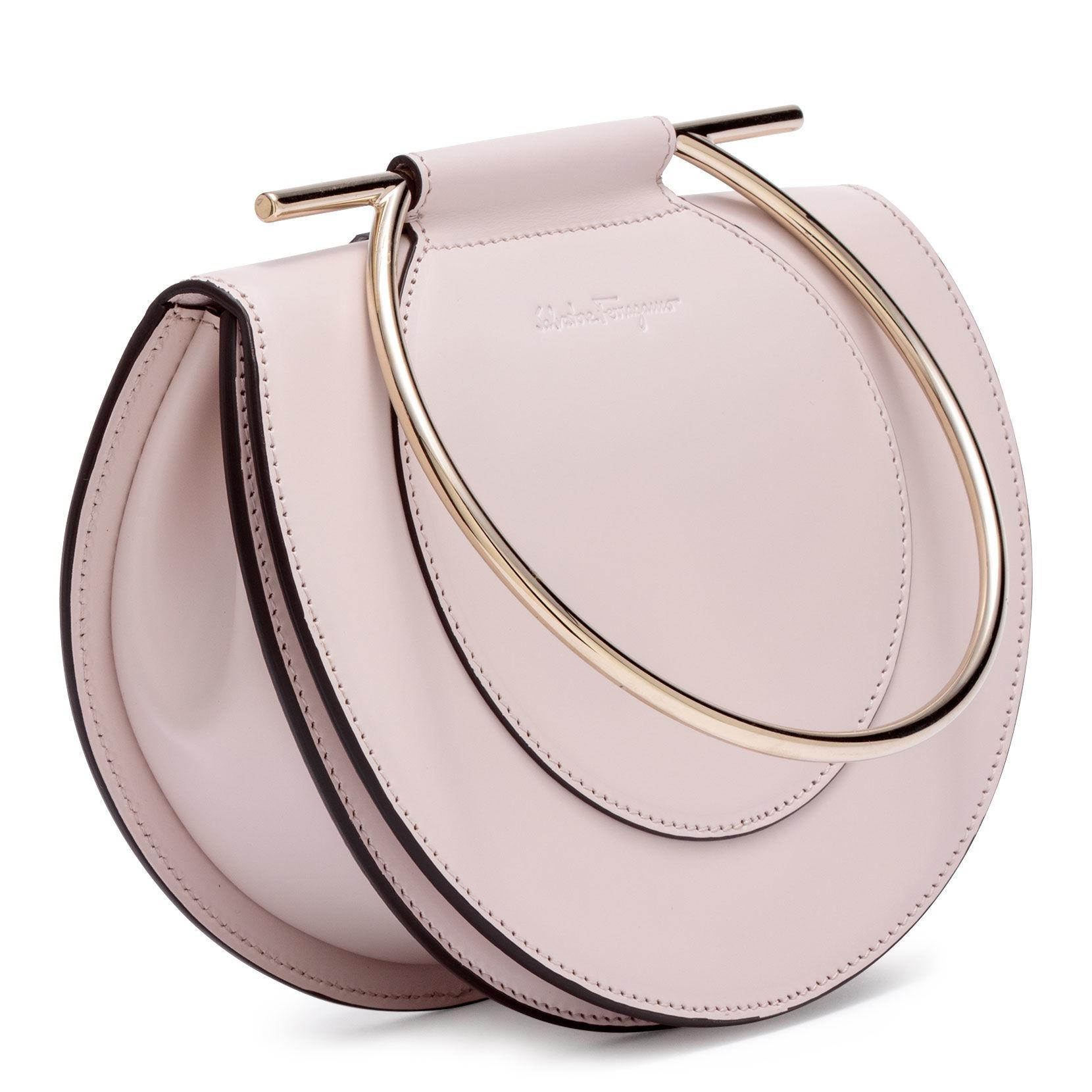 Daphne bandolera Pale Lyst Pink Blush Ferragamo Gancino CO5axqf
