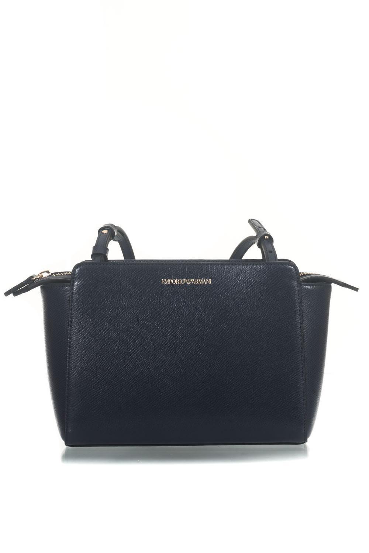 c84ba261445d Lyst - Emporio Armani Shoulder Bag in Blue