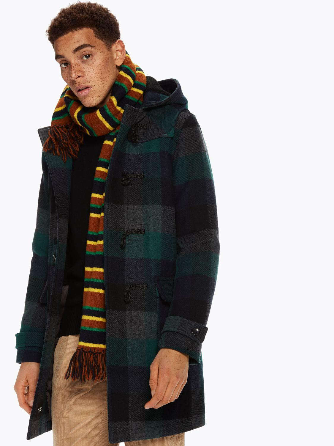 b9d5c397475a2 Lyst - Scotch   Soda Checked Duffel Coat for Men