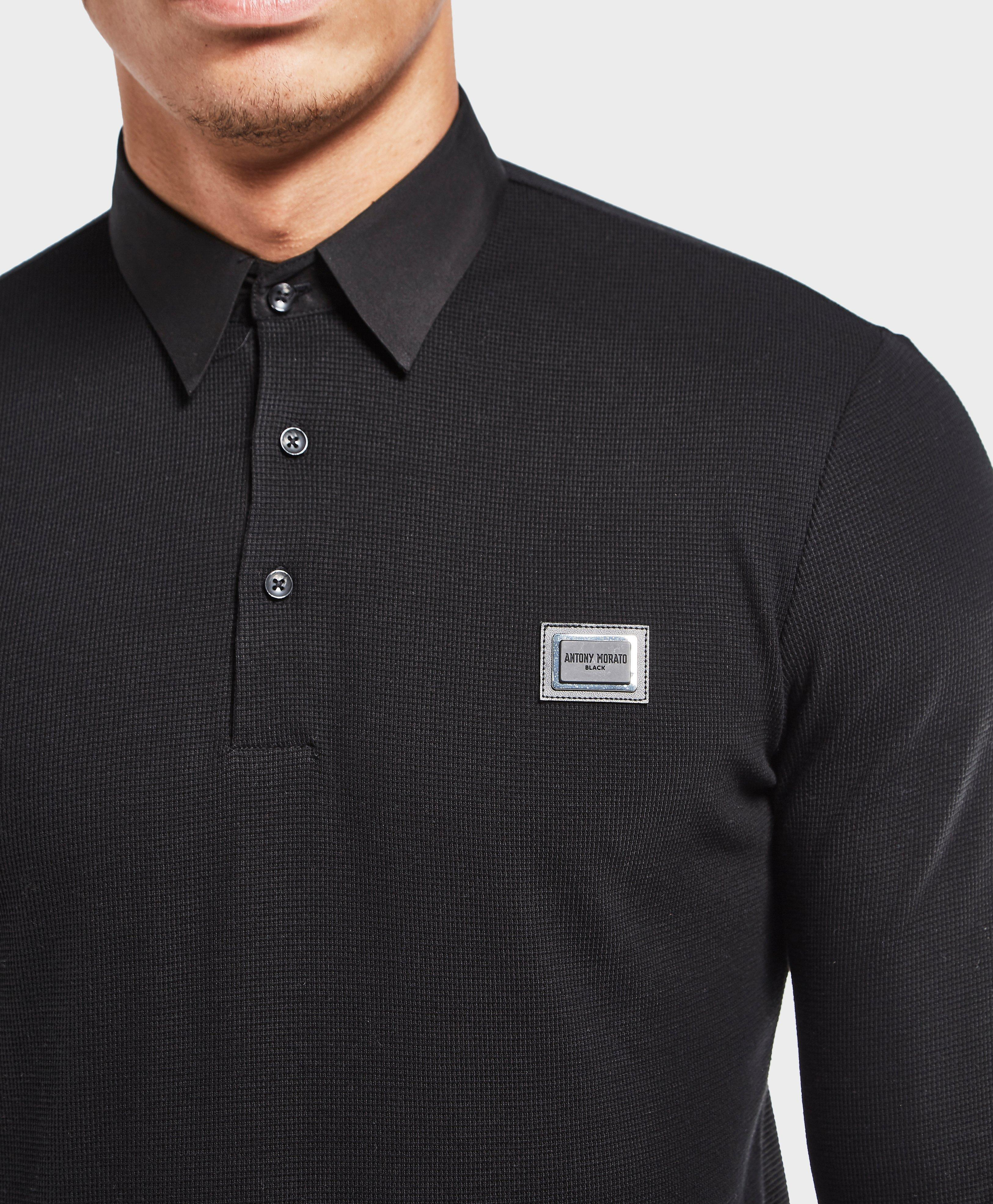 Black Long Sleeve Shirt Mens