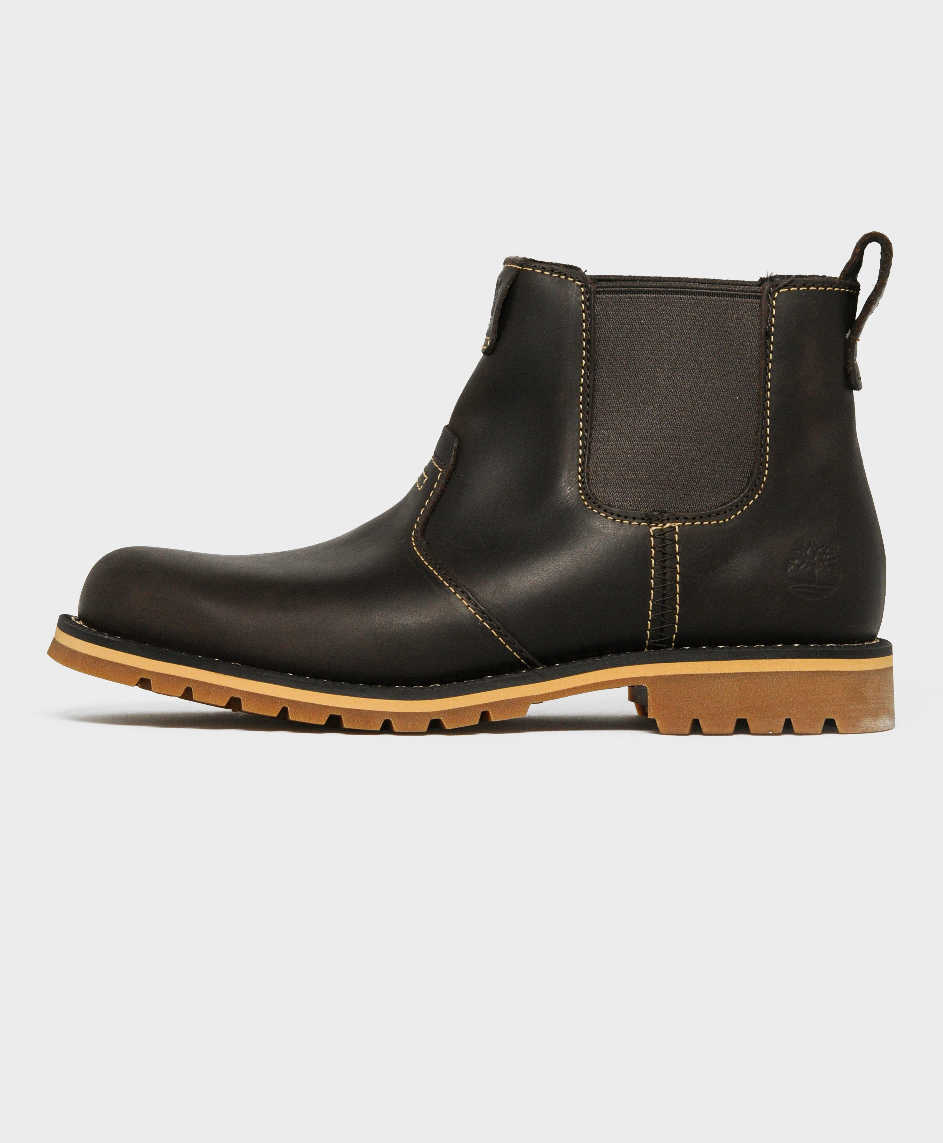 lyst timberland grantly chelsea boot in black for men. Black Bedroom Furniture Sets. Home Design Ideas