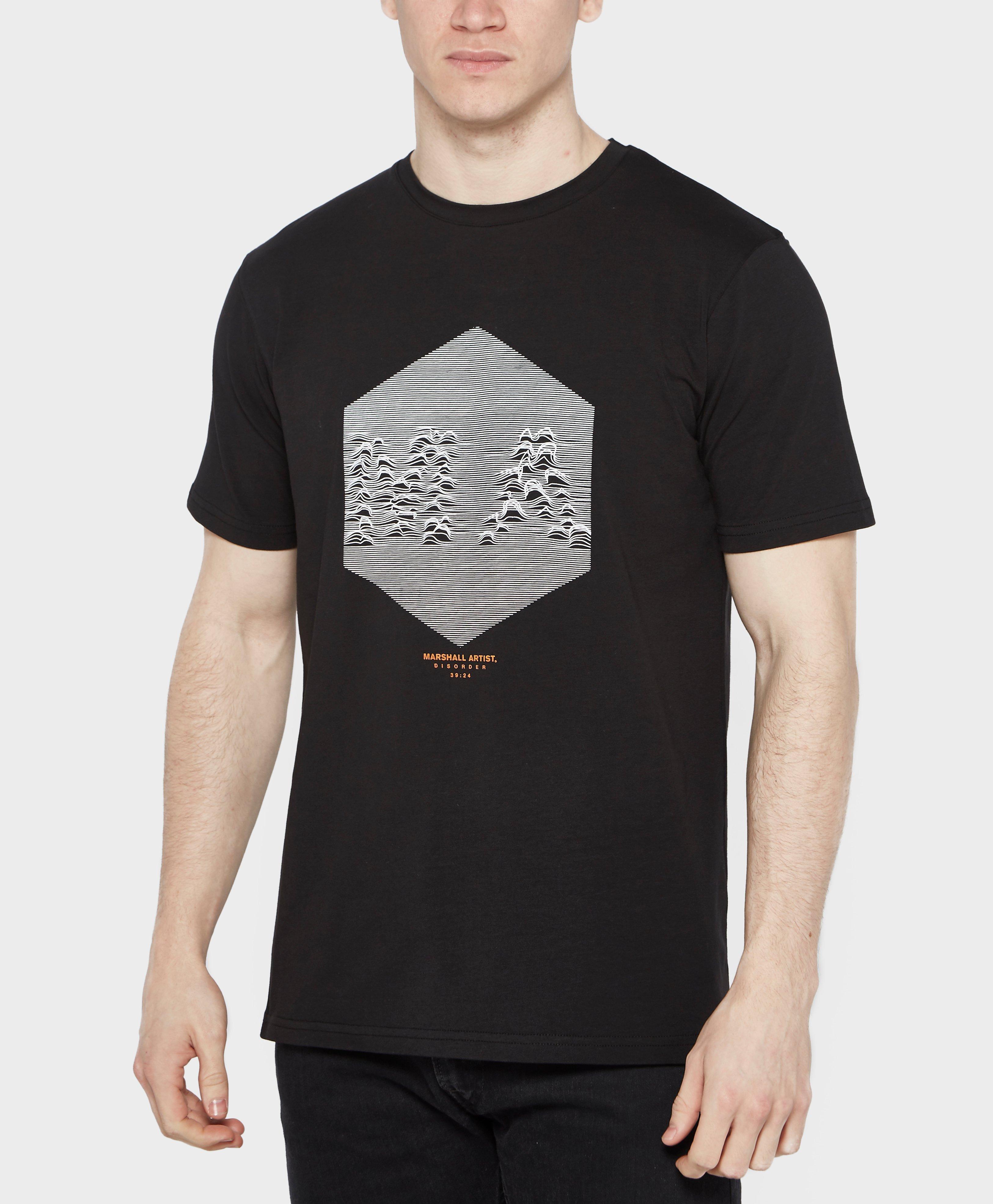 Marshall Artist Disorder T Shirt In Black For Men Lyst