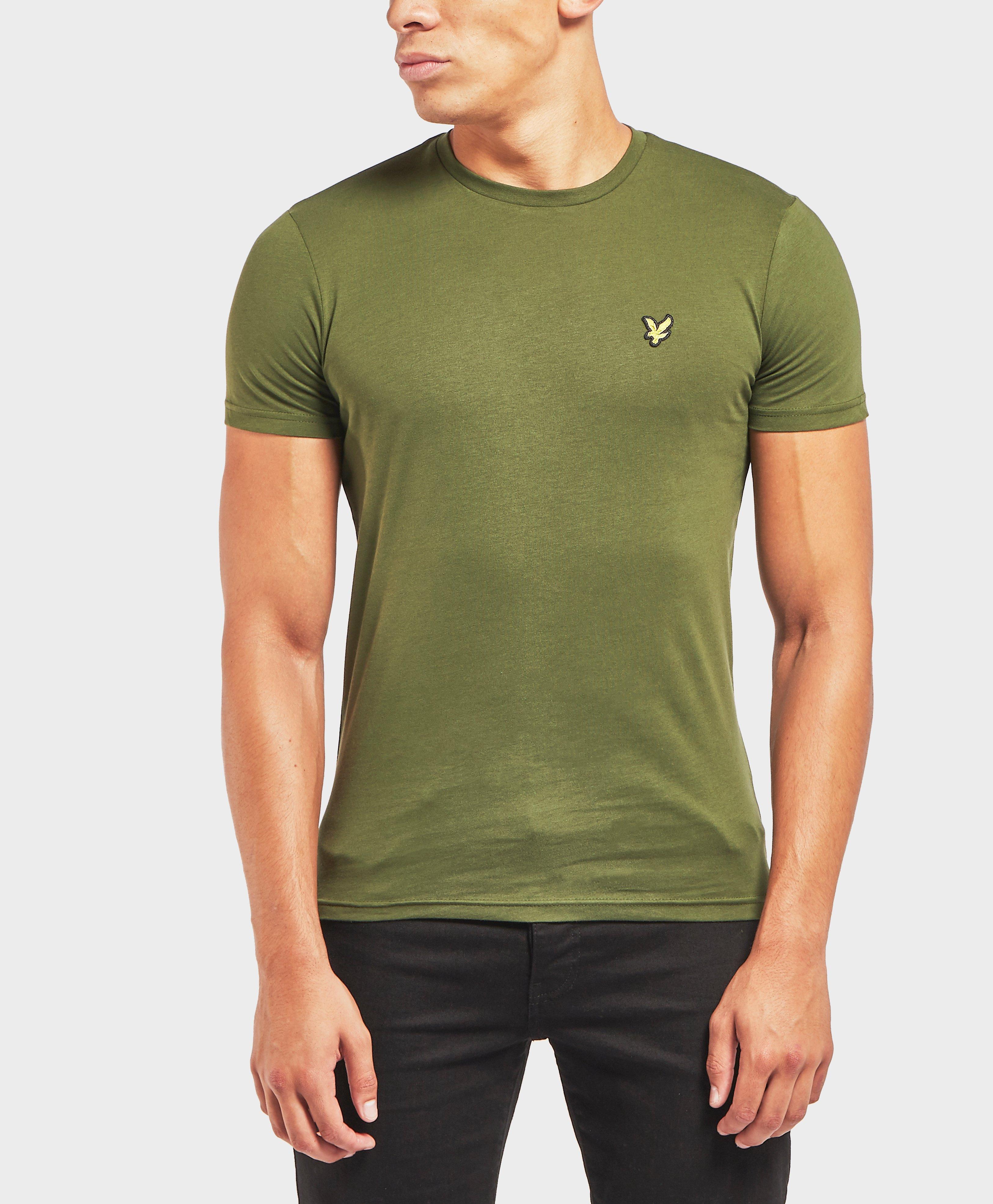 57ebb245e Lyle & Scott Lyle And Scott Crew Neck T-shirt in Green for Men ...