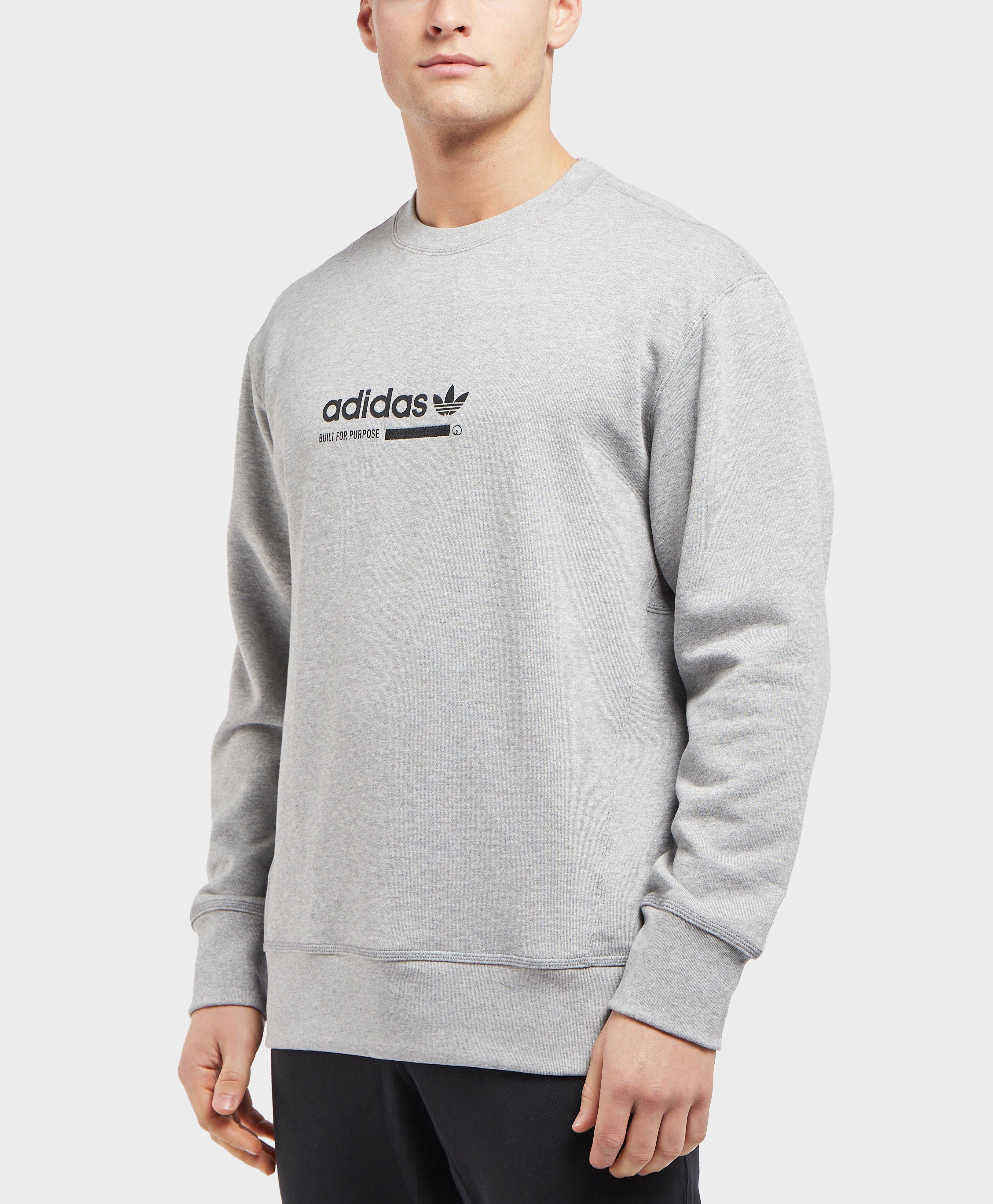 Originals Gray For Men Adidas In Lyst Sweatshirt Kaval Crew fqnAwZd