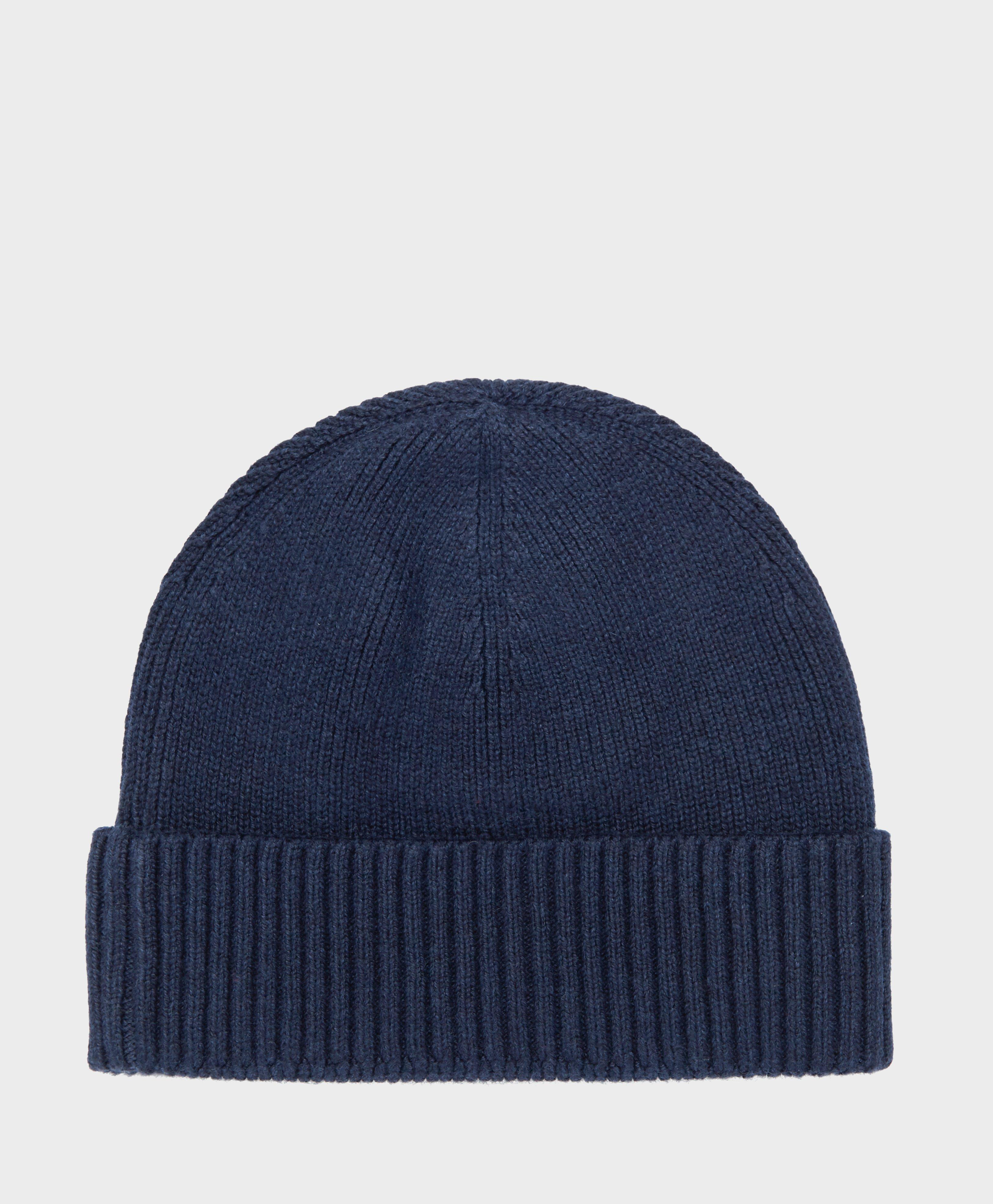 458736378d3 Lyst - Tommy Hilfiger Small Flag Beanie in Blue for Men - Save 26%