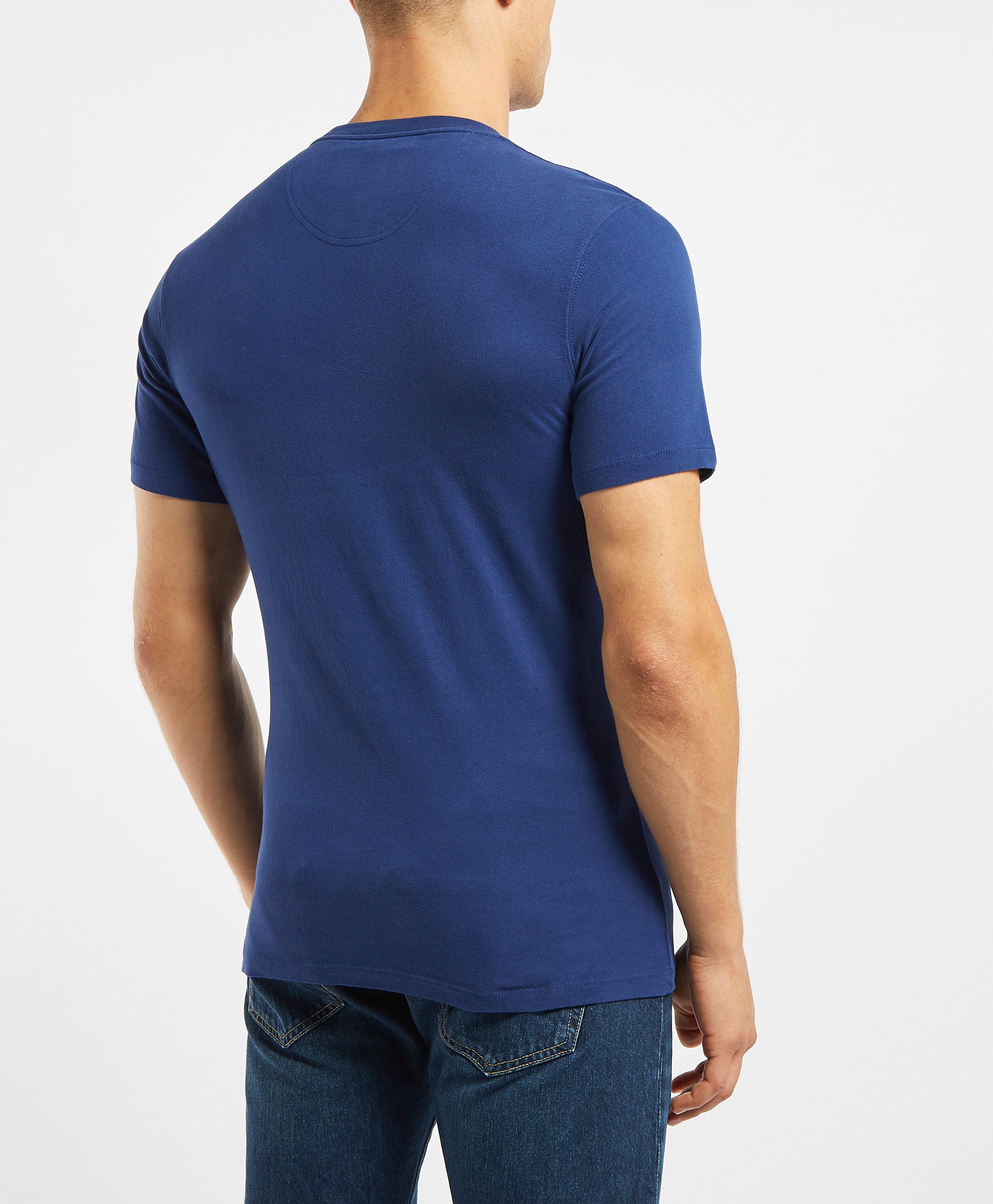 3a2f1f59f Lyst - Barbour Mens International X Steve Mcqueen Short Sleeve T-shirt Blue  in Blue for Men - Save 29.16666666666667%