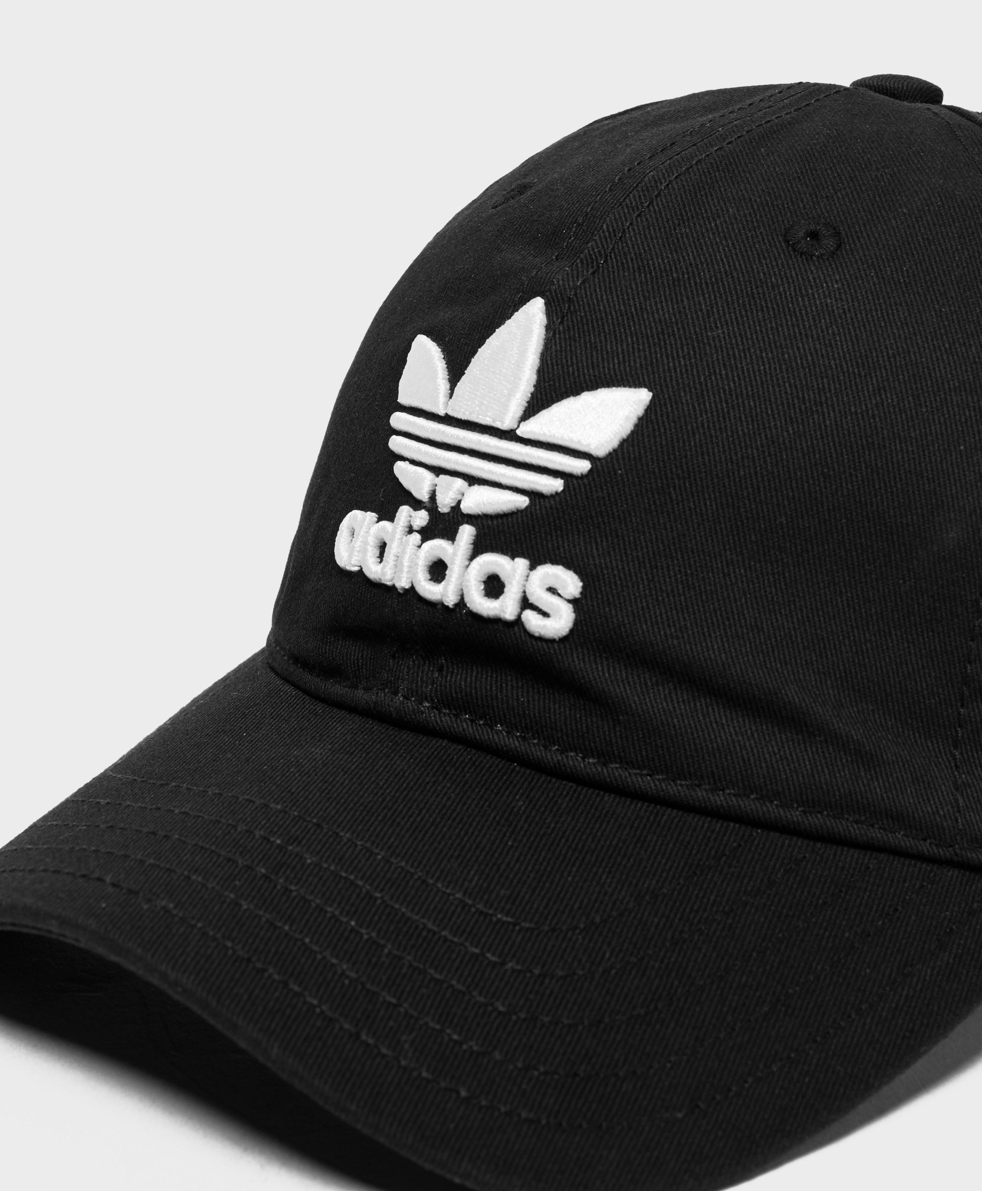 9b6745e2f2892 Lyst - adidas Originals Trefoil Classic Cap in Black for Men
