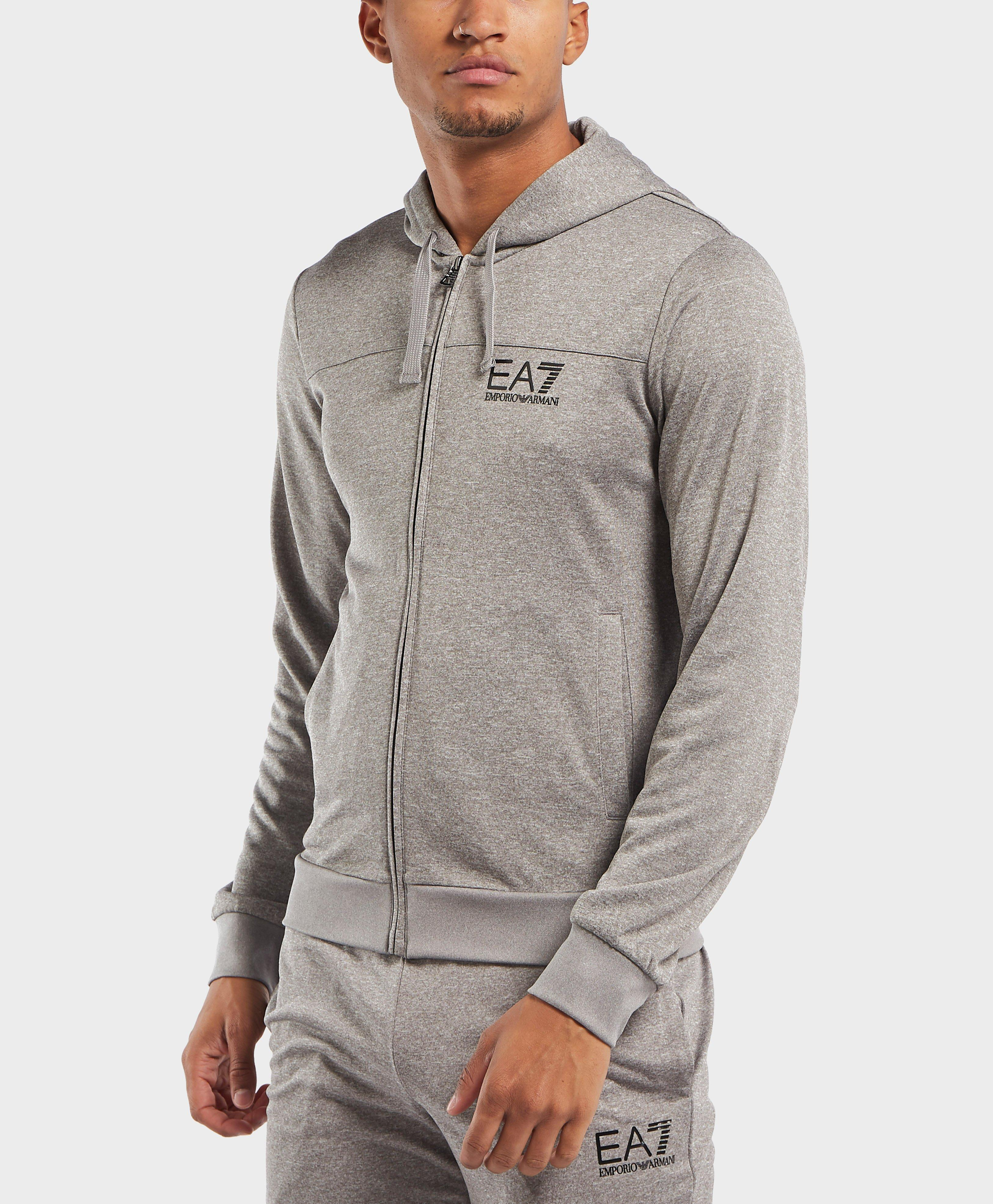20c50e4120a EA7 - Gray Hooded Poly Tracksuit for Men - Lyst. View fullscreen