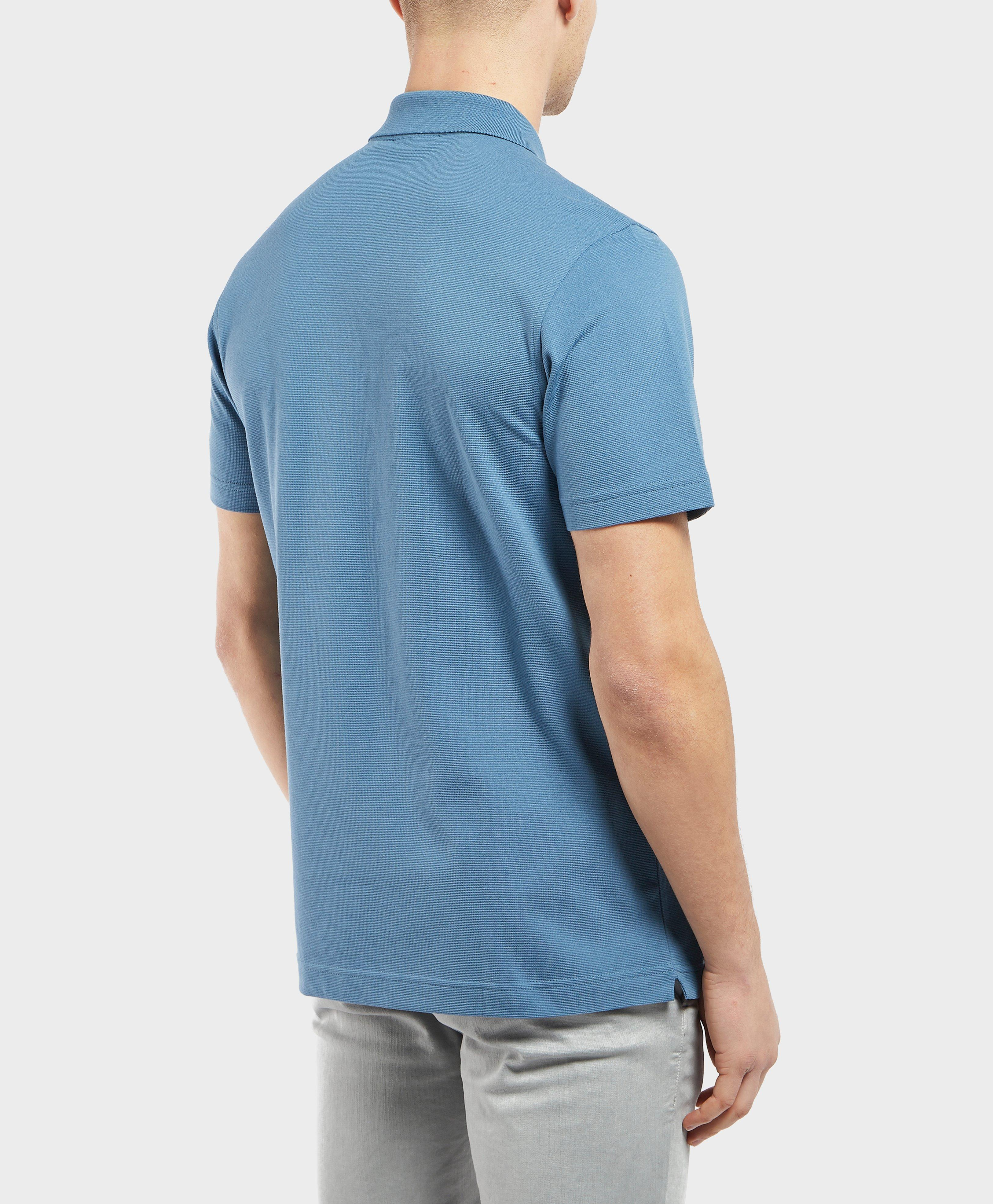 abd2141f Lyst - Lacoste Alligator Short Sleeve Polo Shirt in Blue for Men