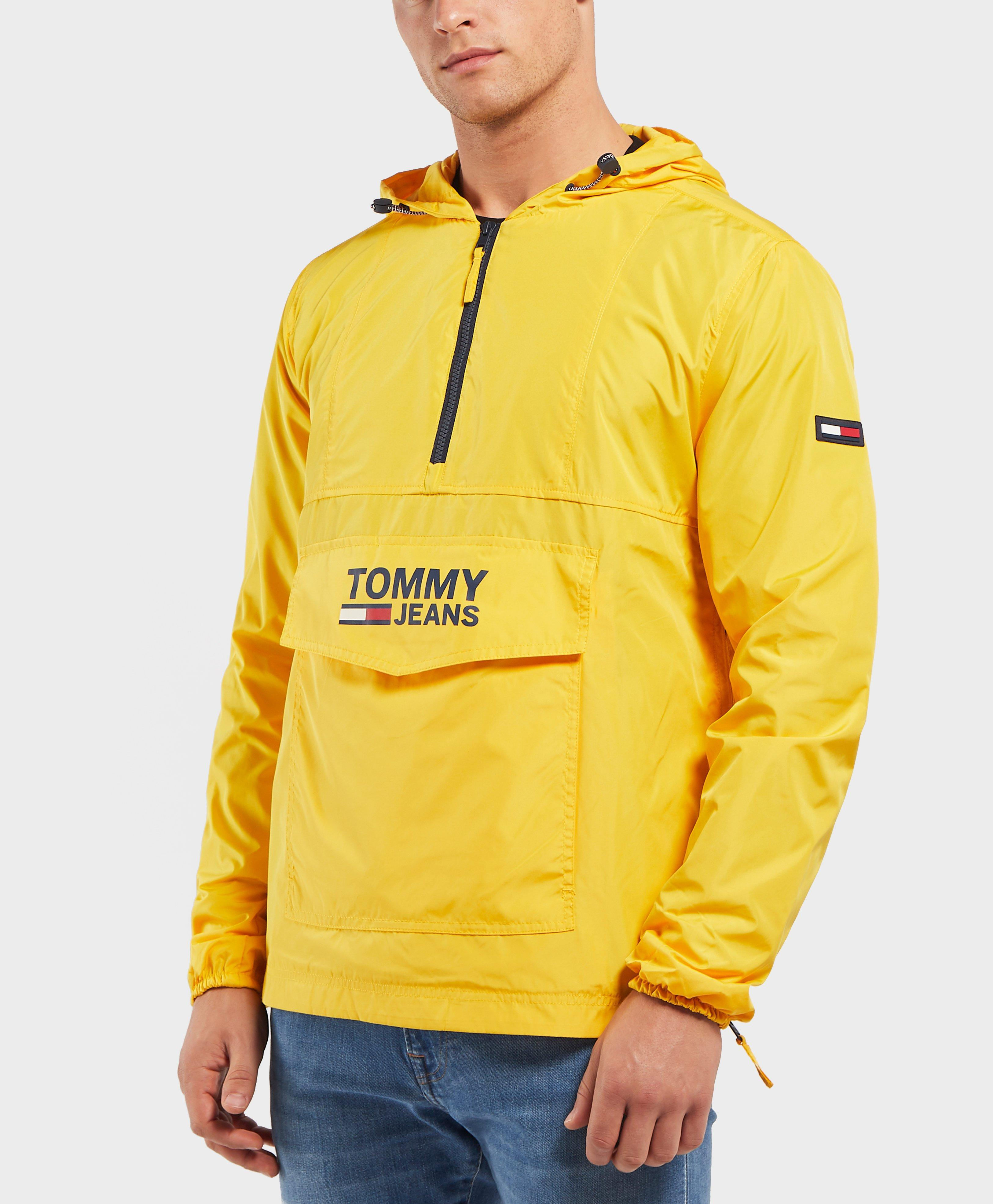 1a571cdaf Lyst Tommy Hilfiger Pop Over Lightweight Anorak Jacket In Yellow
