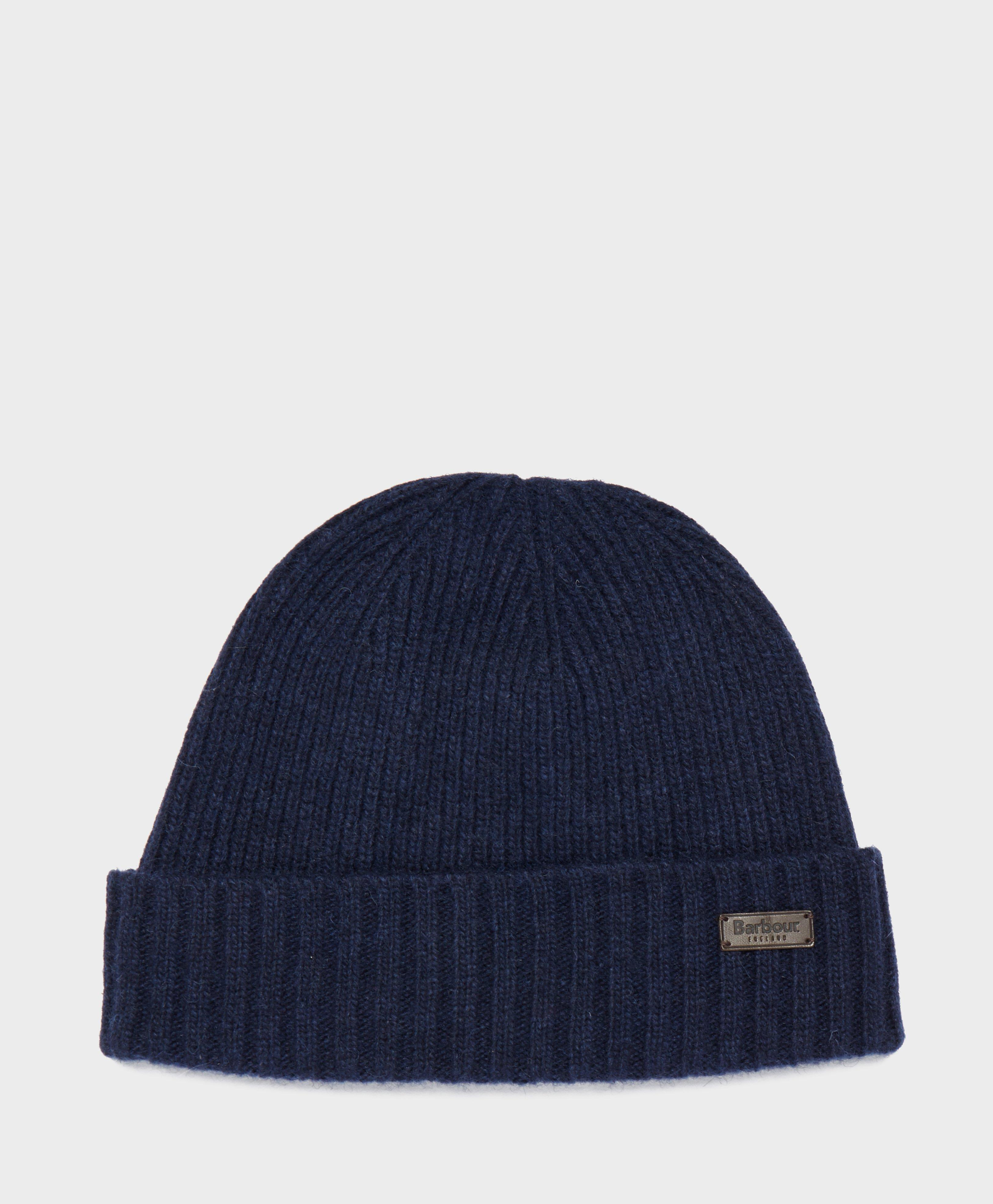 7c0c8be4f7f Lyst - Barbour Calton Beanie in Blue for Men