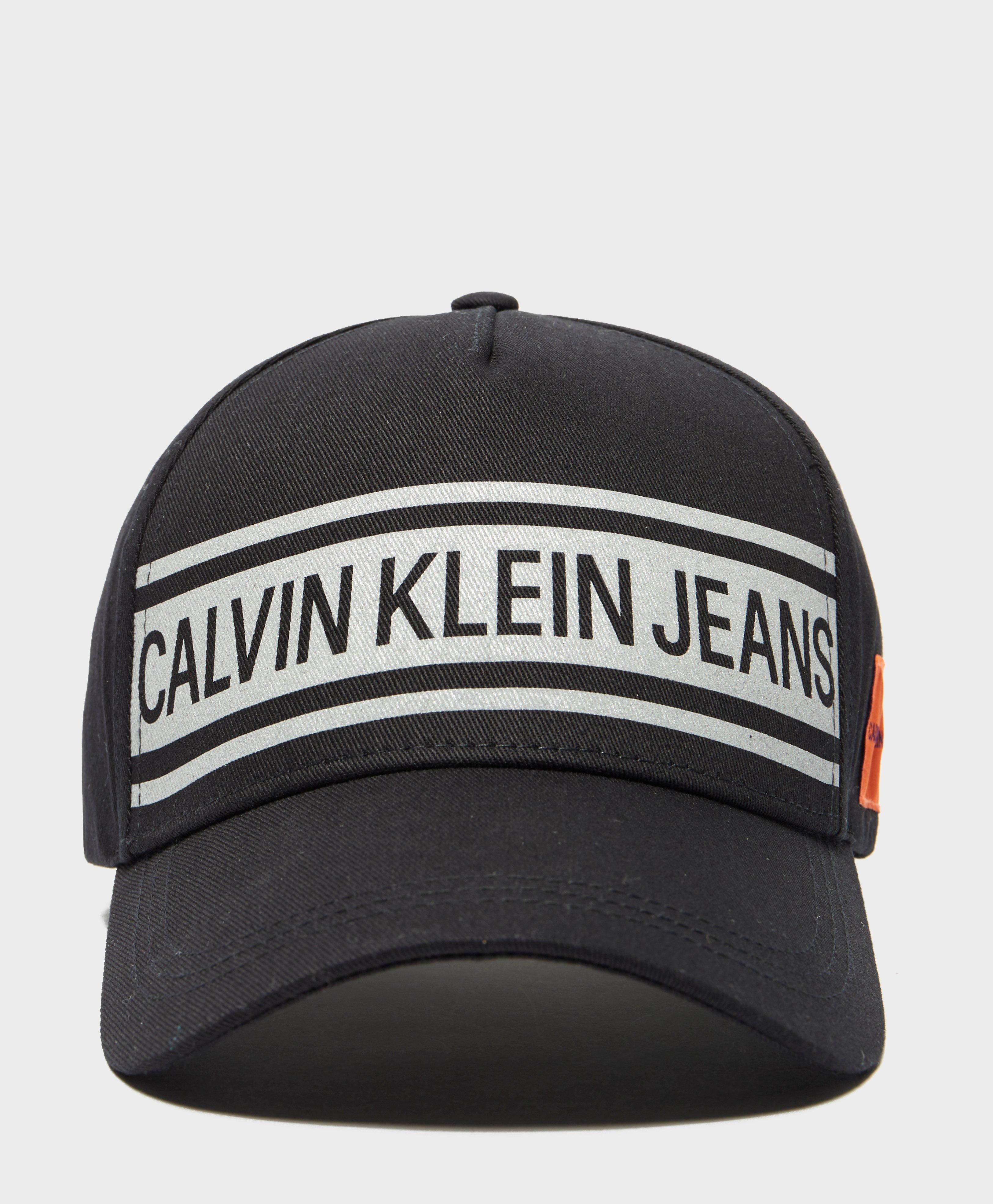 83578f802da Lyst - Calvin Klein Reflective Cap in Black for Men