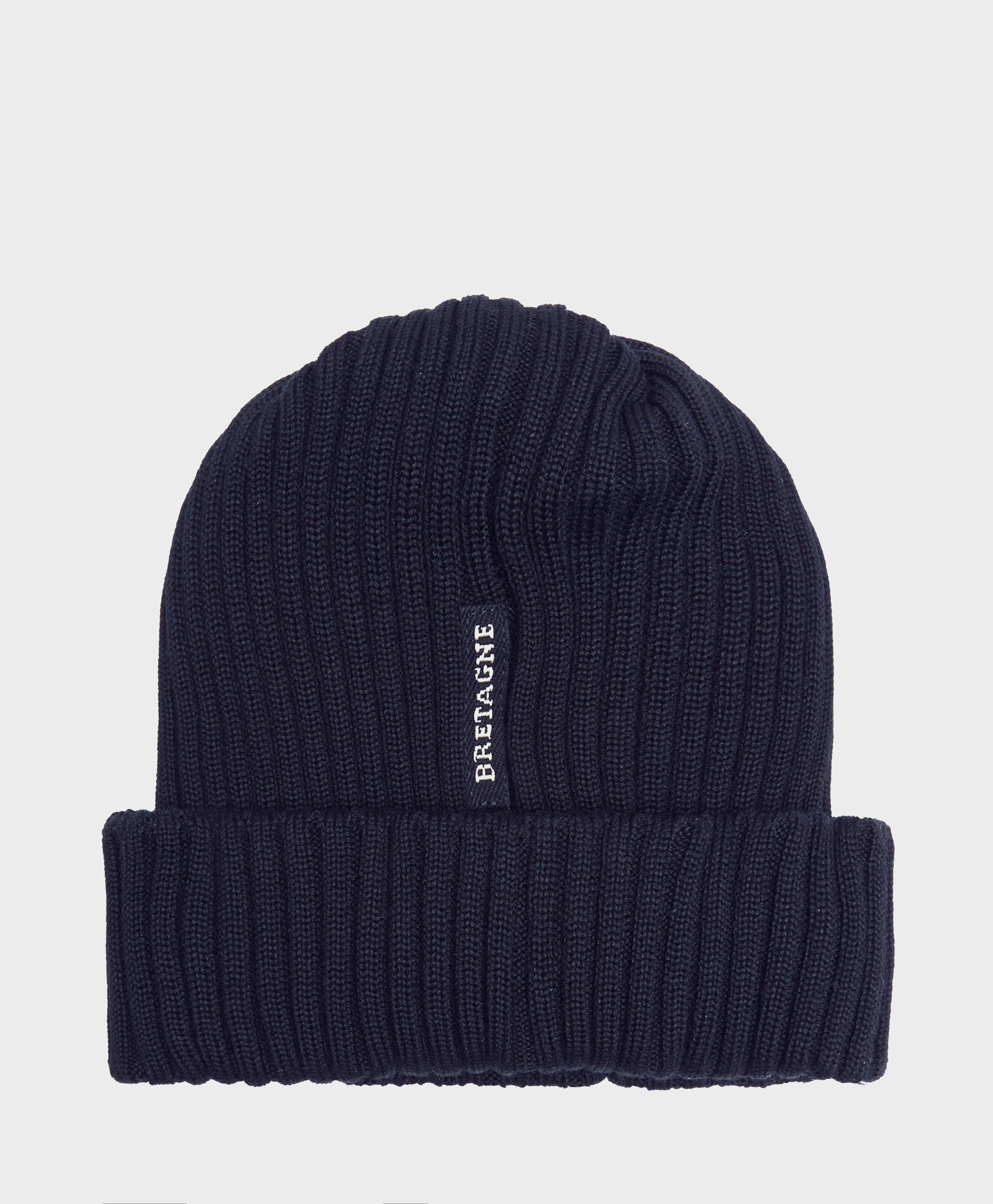 0d5618ab62b Paul And Shark Ribbed Knit Hat in Blue for Men - Lyst