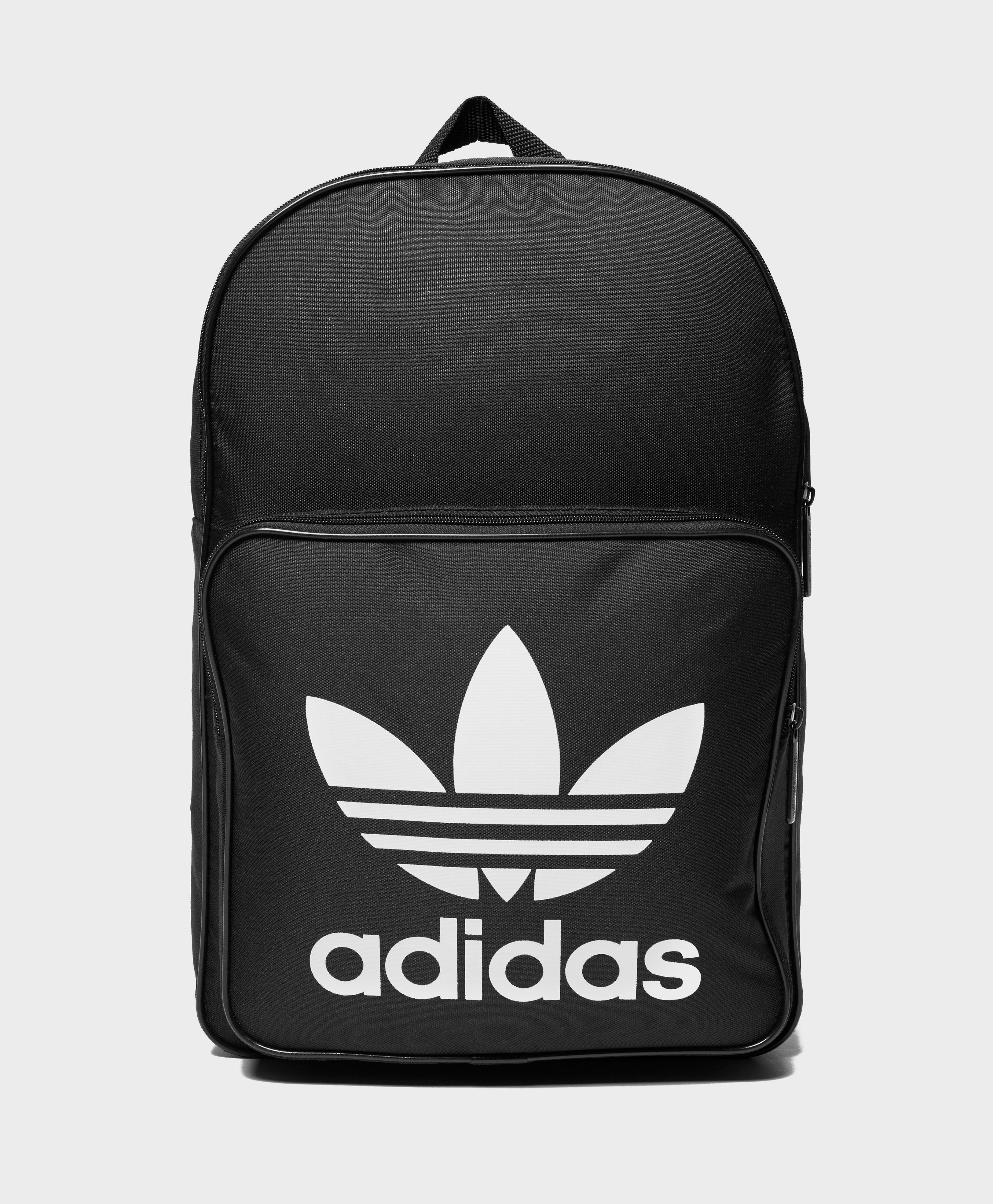 adidas Originals Trefoil Backpack In Black With Front Pocket Bk6723 ... 672065ad3a310
