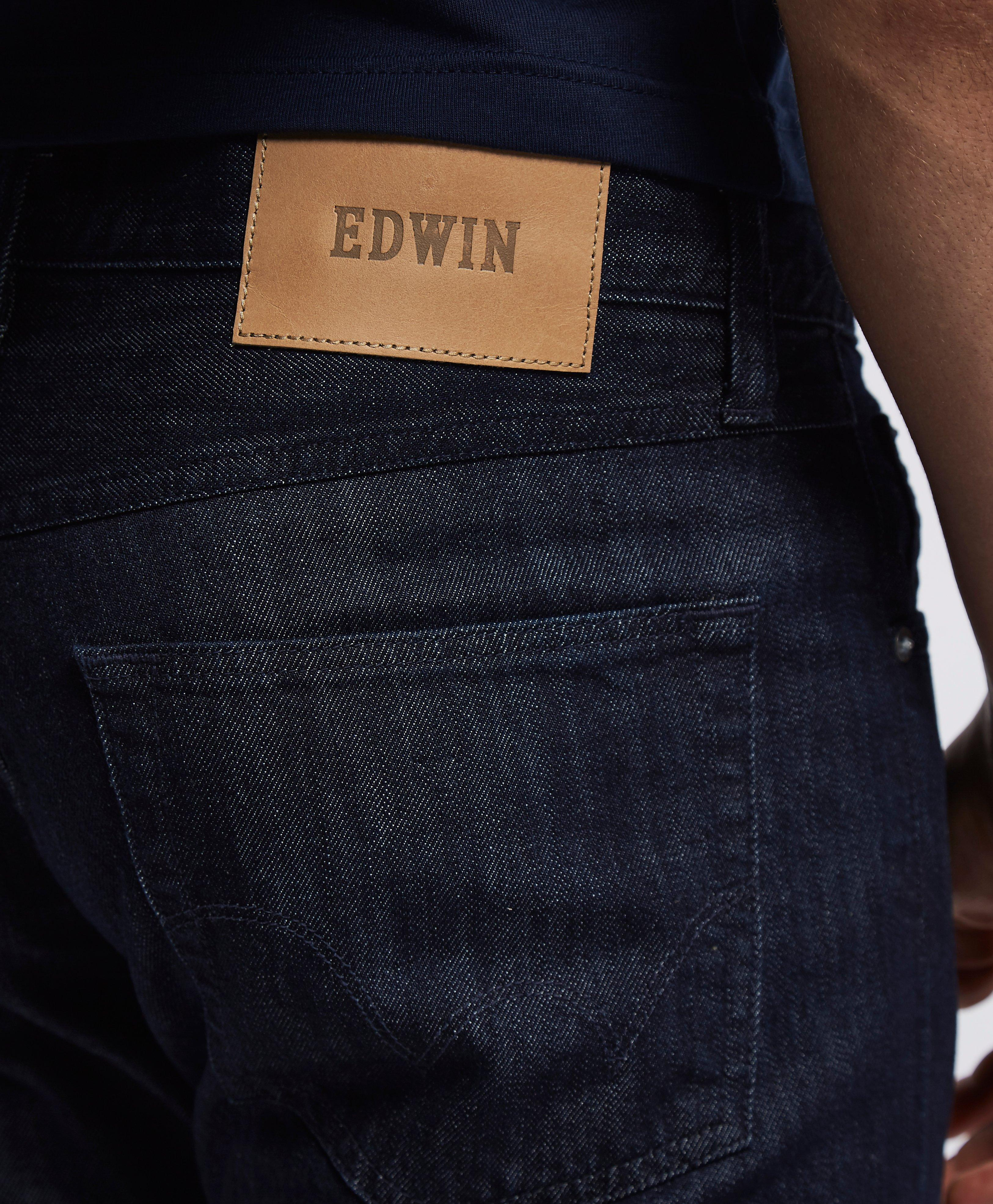 Jeans 55 For Regular Men Kingston Edwin Ed Tapered Lyst In Blue qCX77x