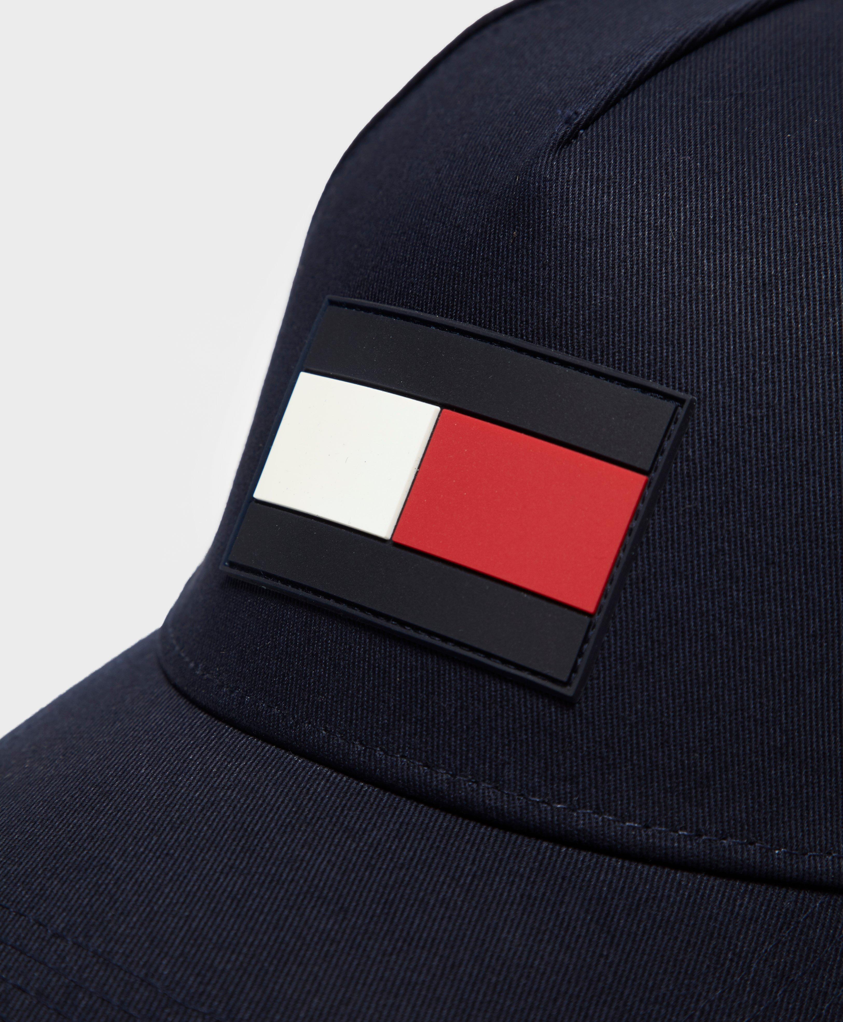 ... Lyst - Tommy Hilfiger Large Flag Cap in Blue for Men finest selection  c7438 b998d ... b22450542bb1