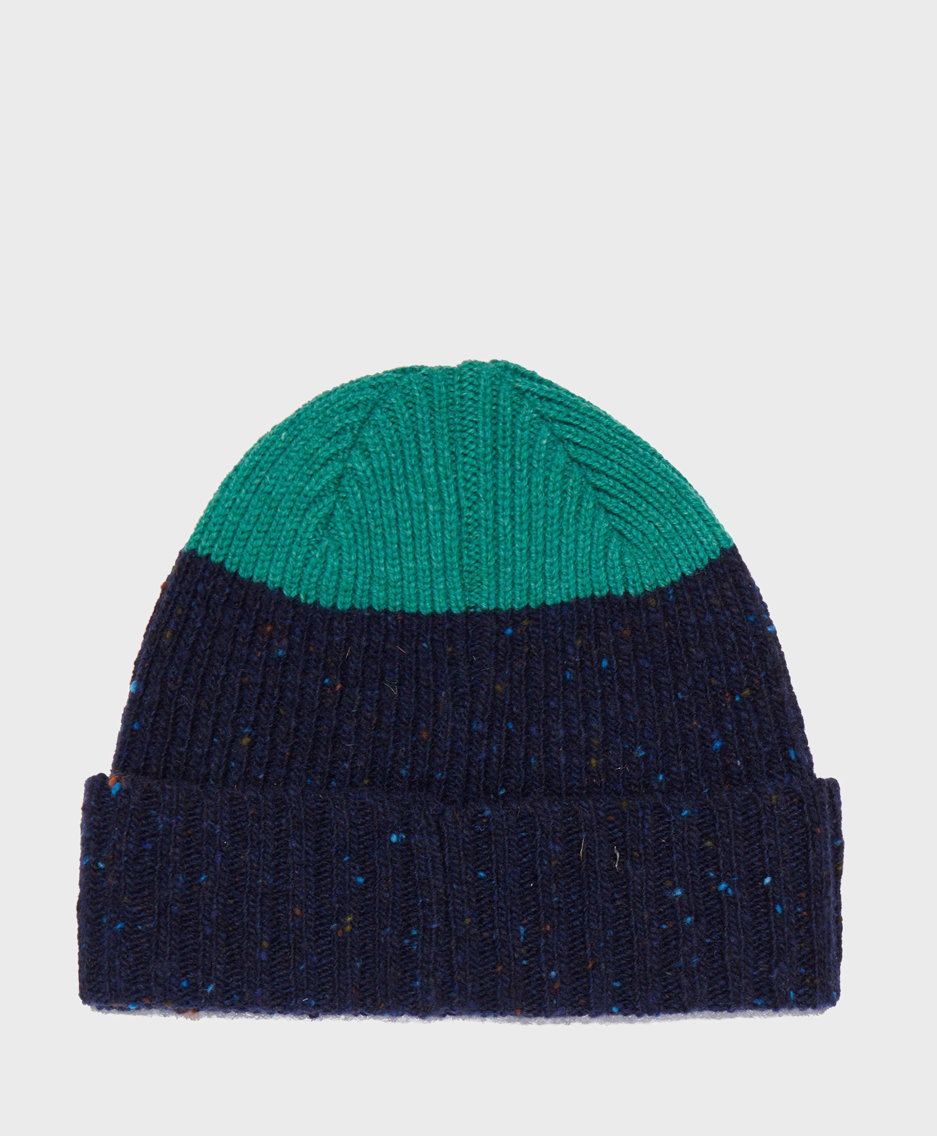 c16a2cf2 Barbour Birkhouse Knitted Beanie in Blue for Men - Lyst
