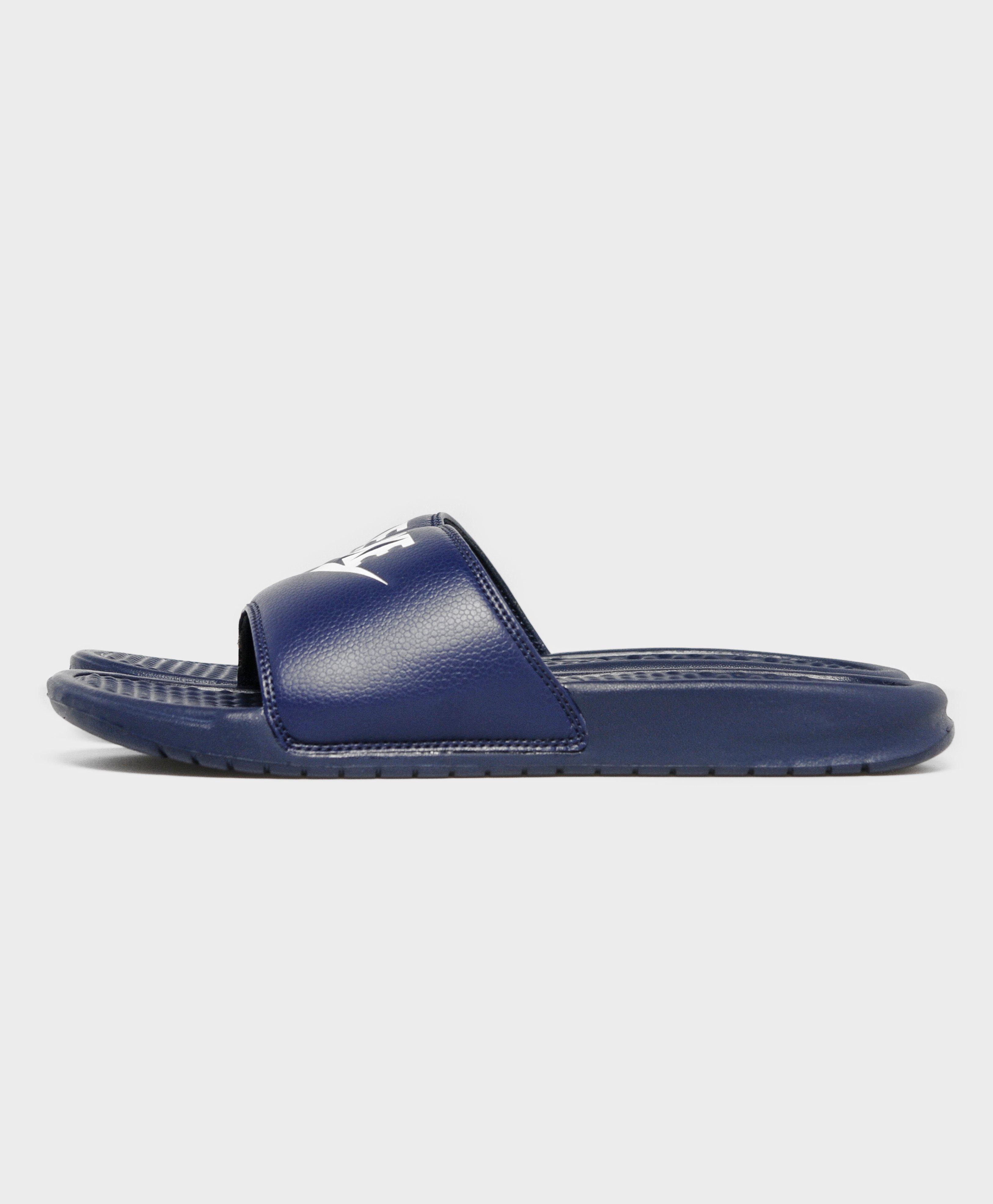 af20ce2ce Nike Benassi Slide in Blue for Men - Save 13.15789473684211% - Lyst