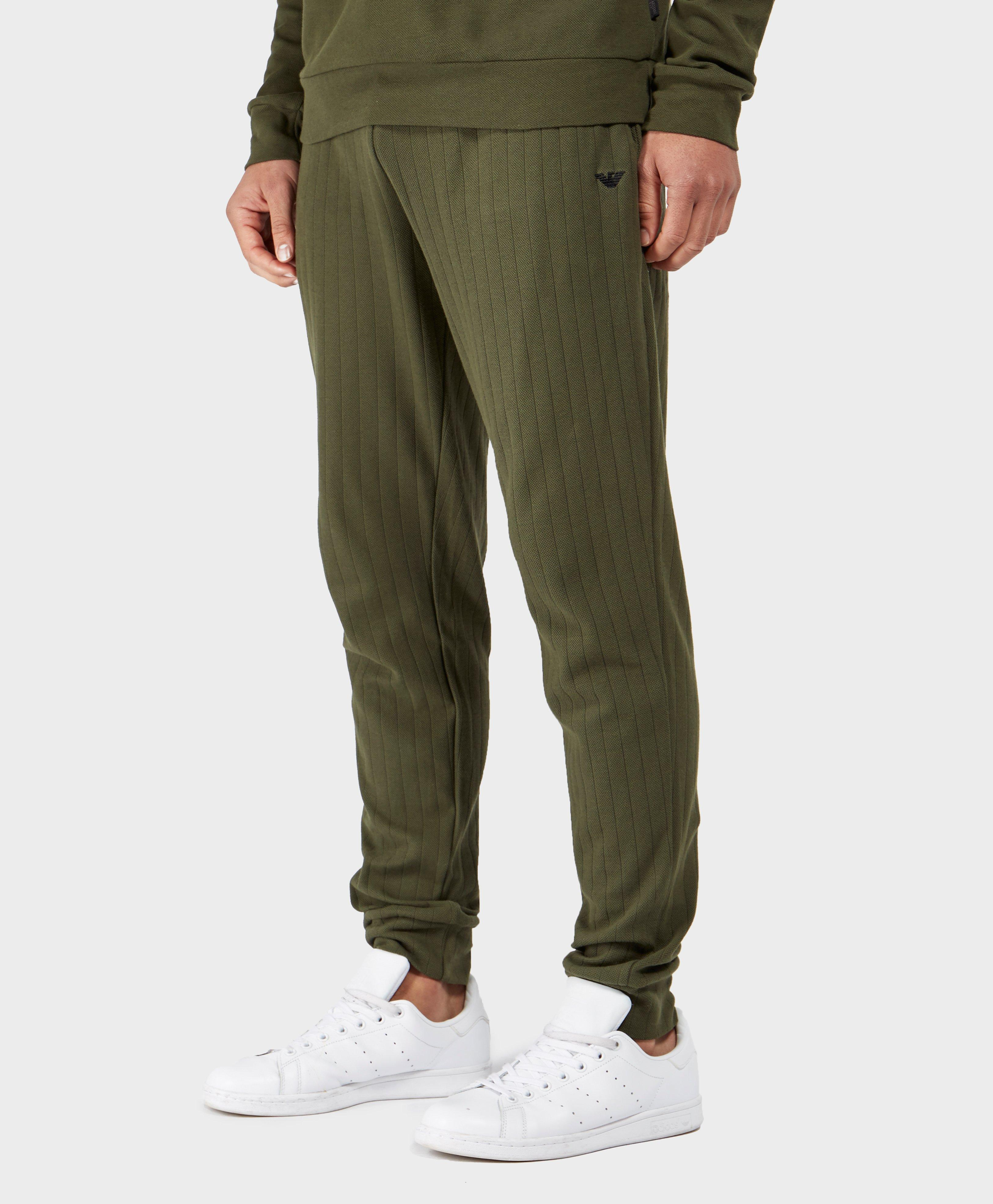 logo side stripe track pants - Green Emporio Armani Buy Cheap Low Shipping Real Online XiRojatft