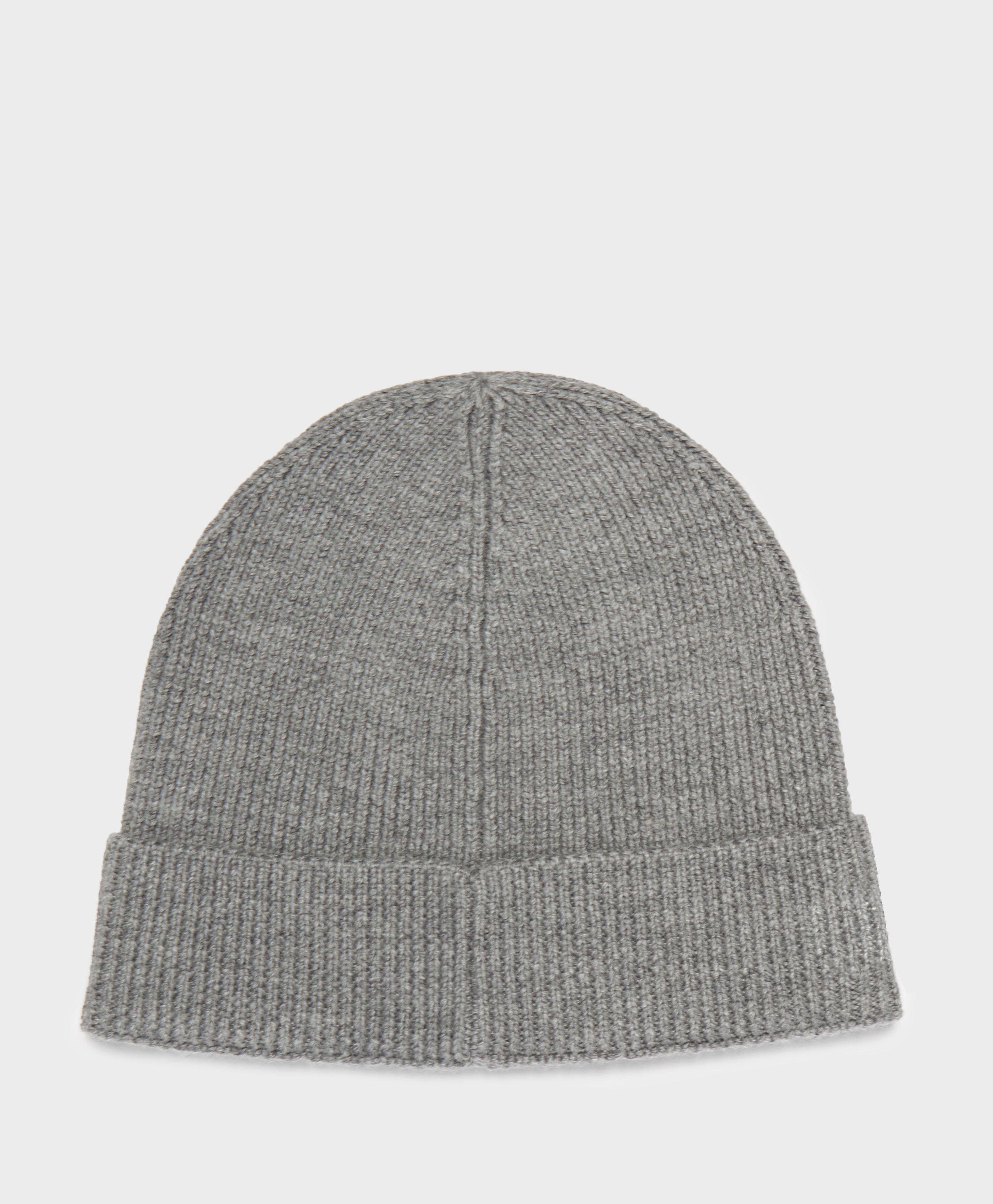 Lyst - Lacoste Ribbed Beanie in Gray for Men a48ca1f26c41