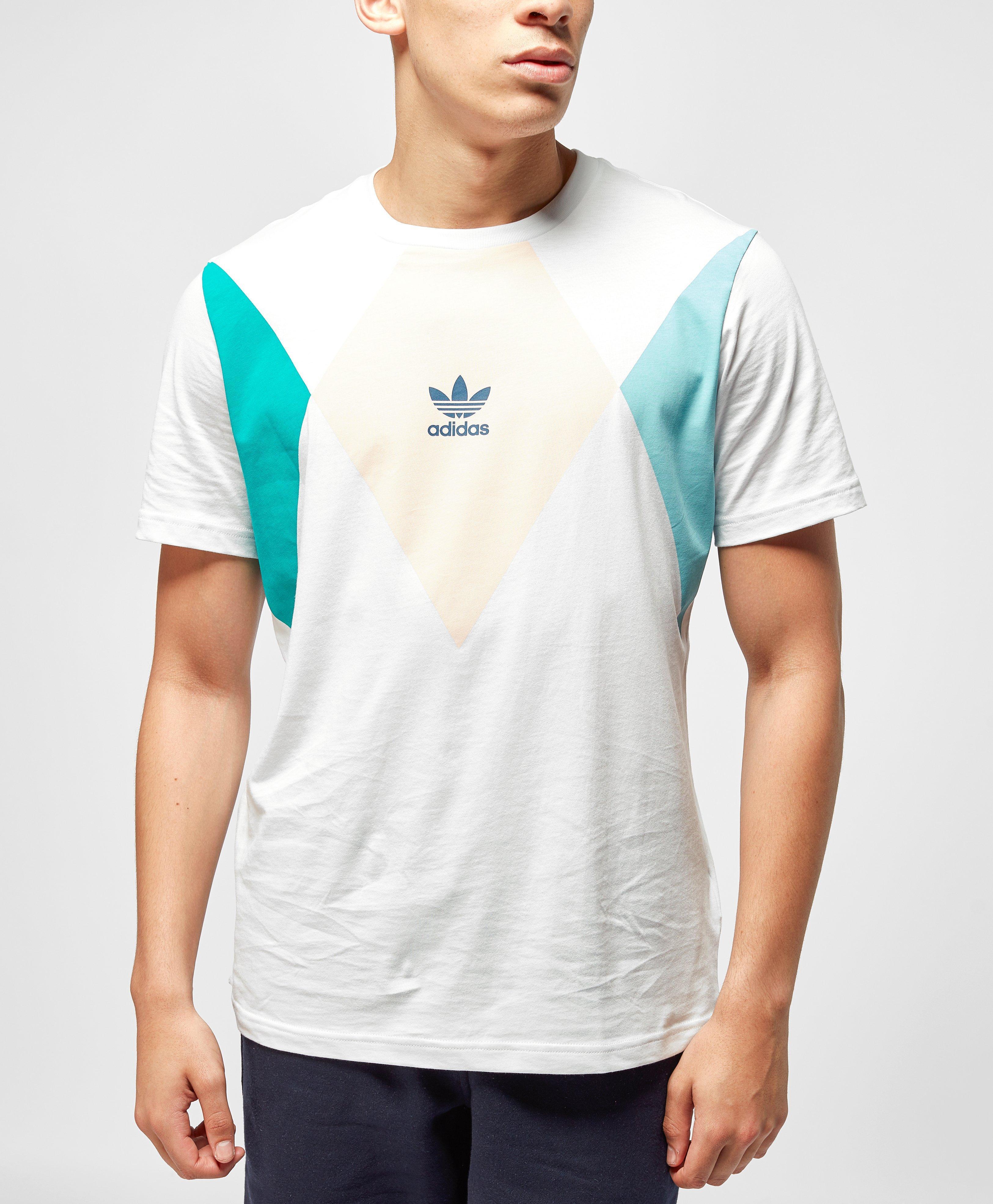 85dcb2af2 Adidas Originals Tennis Crew Neck T-shirt for Men - Lyst