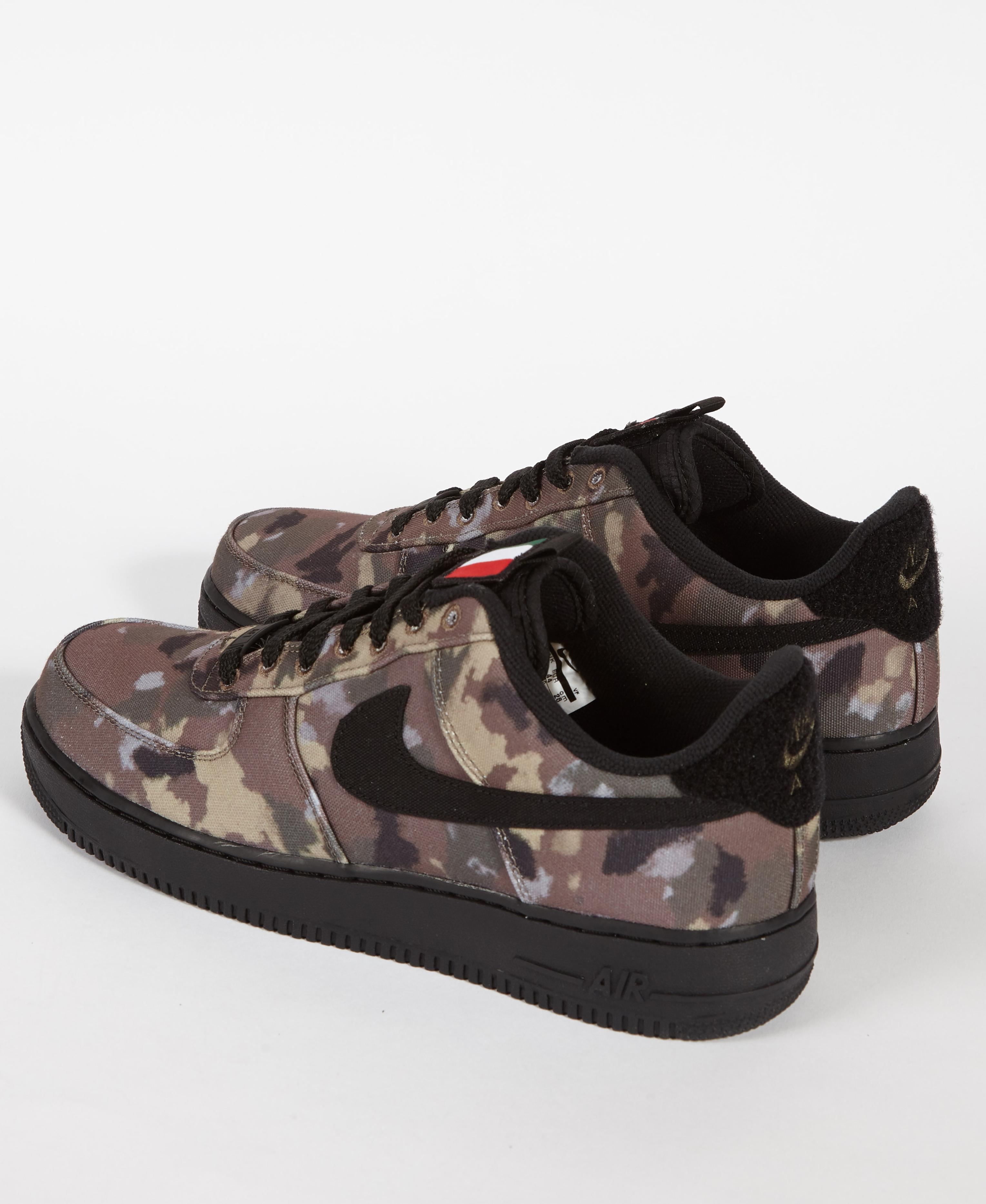 online store 2a833 d7f64 Lyst - Nike Air Force 1  07 Low  country Camo  Italy in Brown for Men
