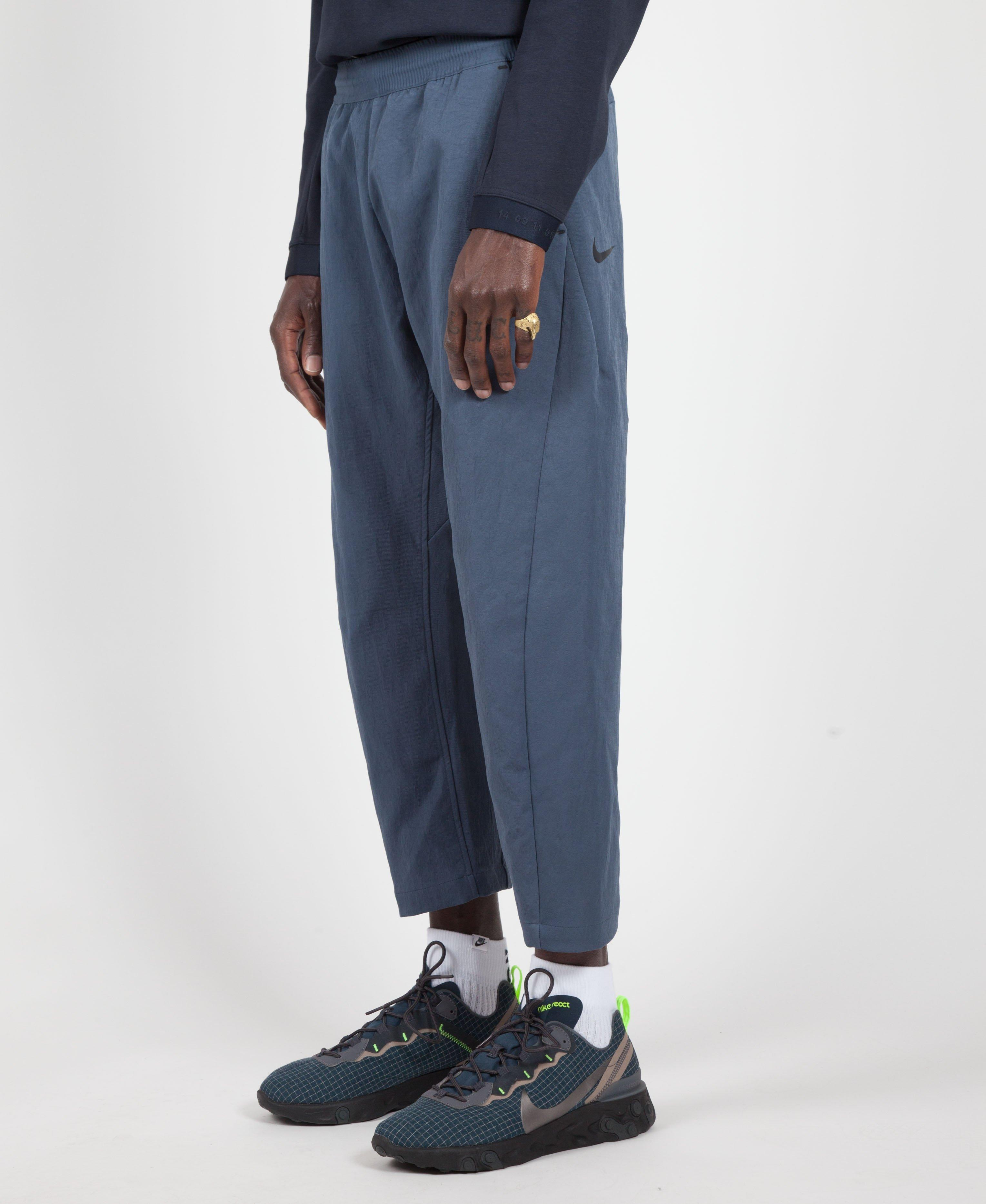 2955dddaf9bf Nike Blue black Tech Cropped Pant in Blue for Men - Lyst