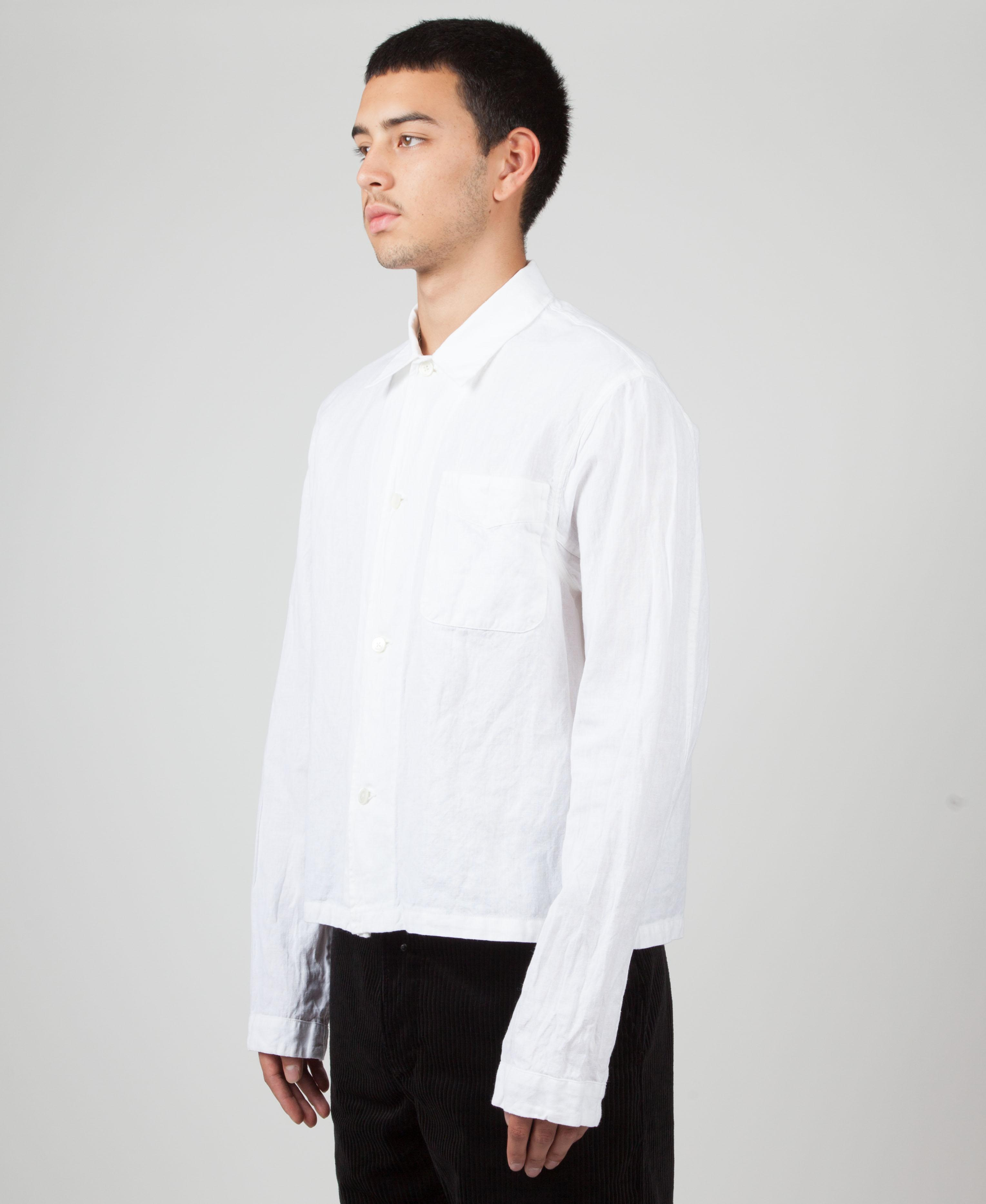 f9332be5f78db Lyst - Our Legacy Shrunken Shirt in White for Men
