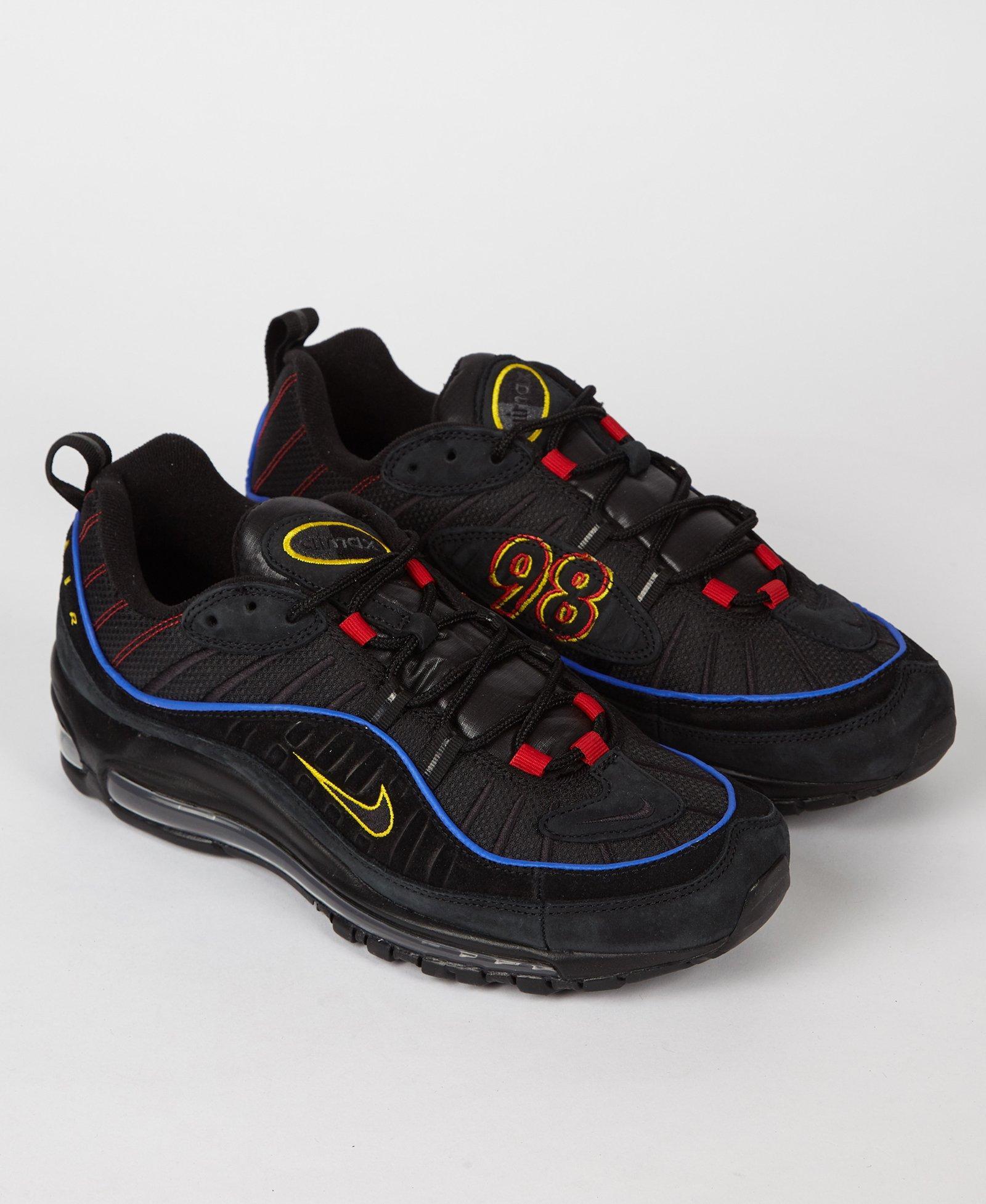 248ae8dfbfb4 Lyst - Nike Air Max 98  amarillo  in Black for Men