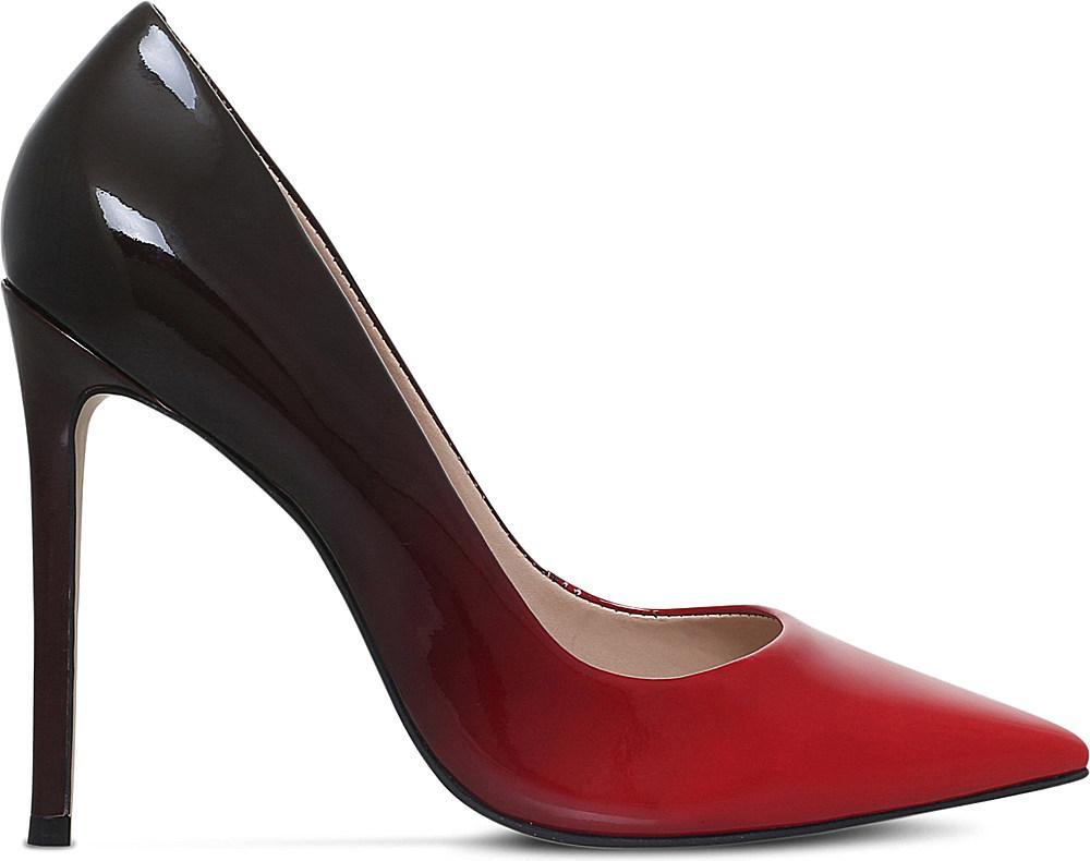 Carvela Red Shoes Patent Court Shoes