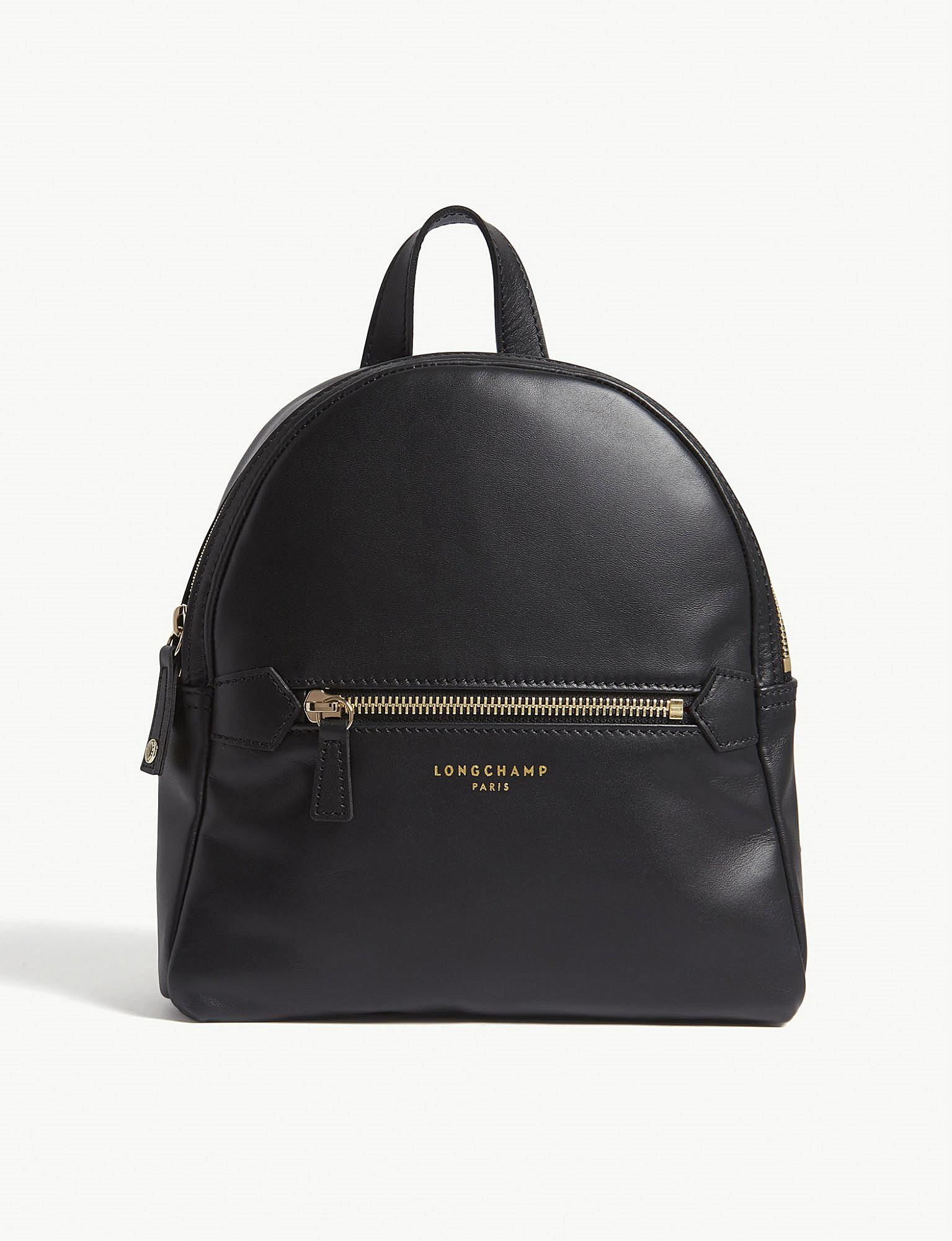 ad02b2a92df2 Longchamp 2.0 Extra-small Leather Backpack in Black - Lyst