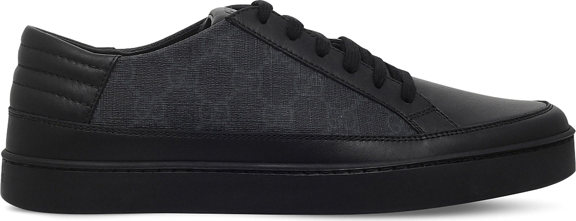 c4ea08fb8f0 Gucci Common GG Low-top Trainers in Gray for Men - Lyst