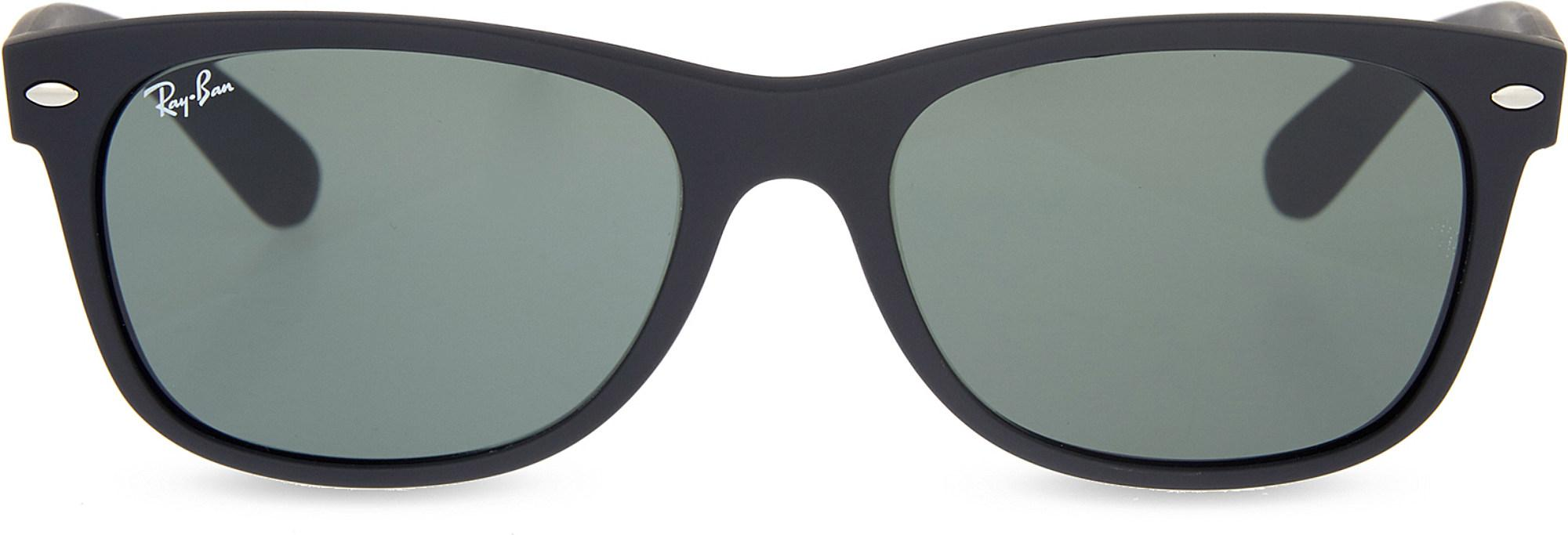 e7a2449267 Lyst - Ray-Ban Rb3132 New Wayfarer Sunglasses in Black - Save ...