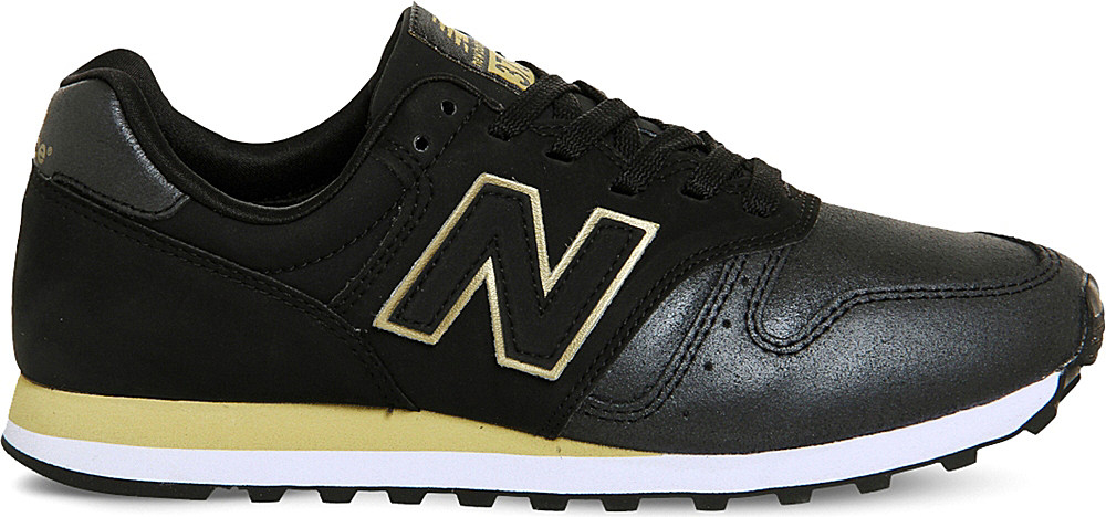 578ef536953f sale nbw373bsav1 af25b 8b4b4  germany lyst new balance 373 suede and mesh  trainers in black for men 536b7 3a3c7
