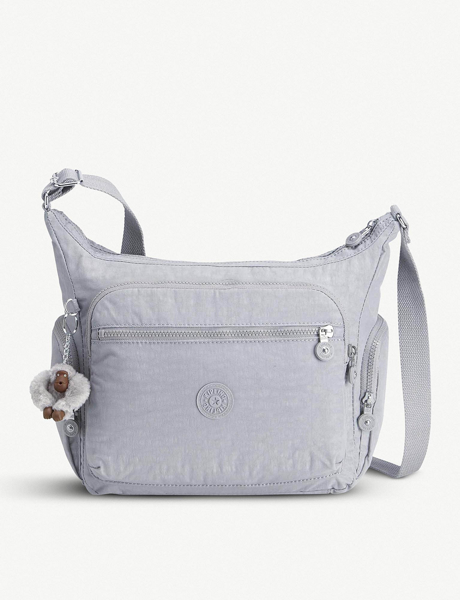 e14dea6763 Kipling Gabbie Large Nylon Shoulder Bag - Lyst
