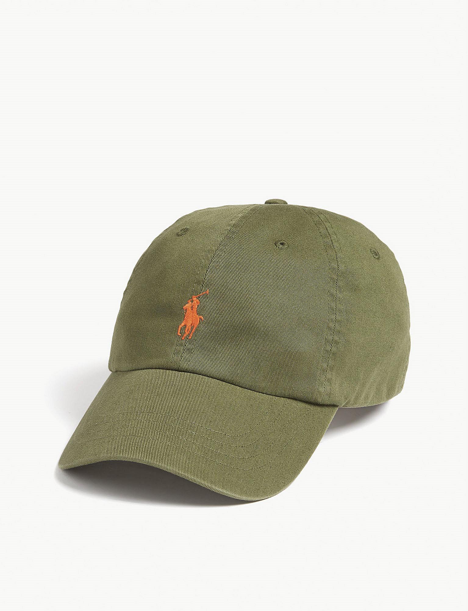 cf18103e7f2 Lyst - Polo Ralph Lauren Pony Baseball Cap in Green for Men