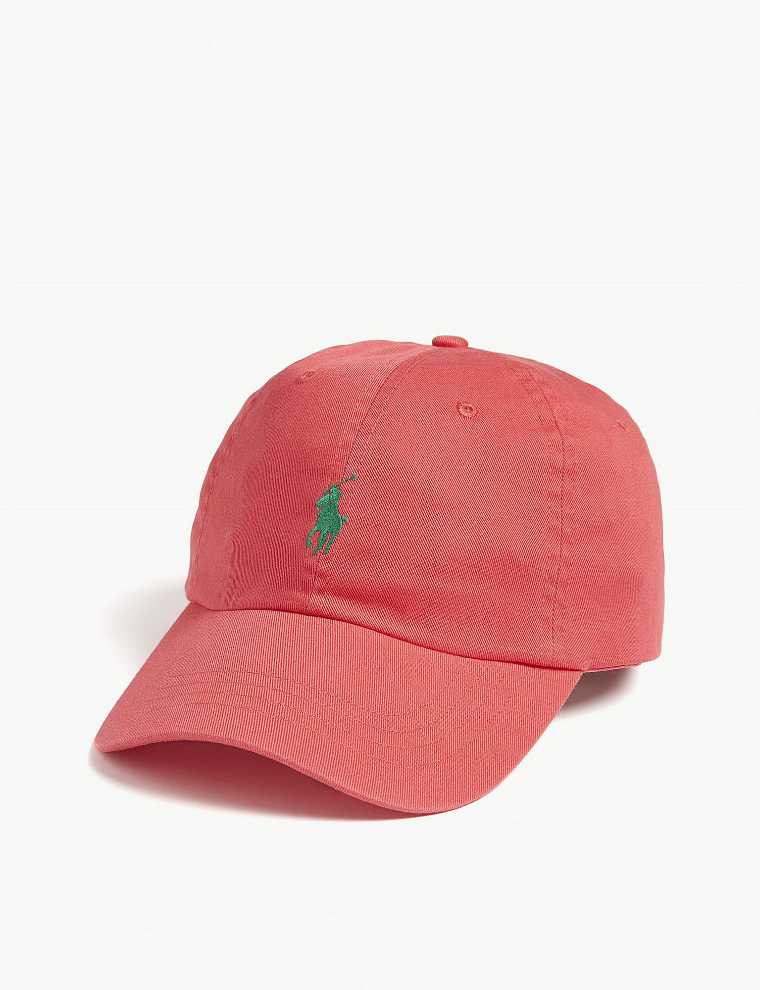 a82a446aa0eef Polo Ralph Lauren Pony Baseball Cap in Red for Men - Lyst