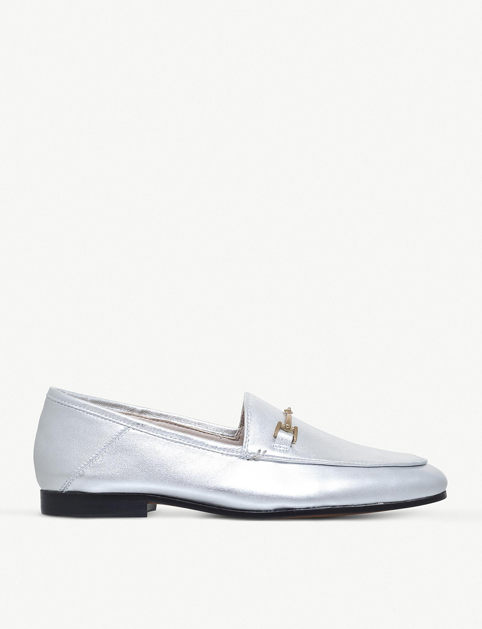 Sam Edelman Loraine Metallic Glitter Loafers kouu5