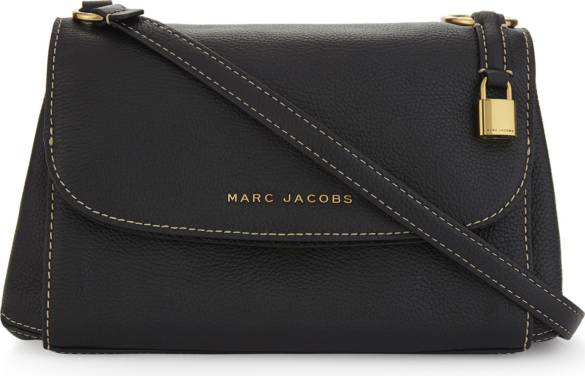 007c170da9ff Marc Jacobs - Black Boho Grind Leather Cross-body Bag - Lyst. View  fullscreen