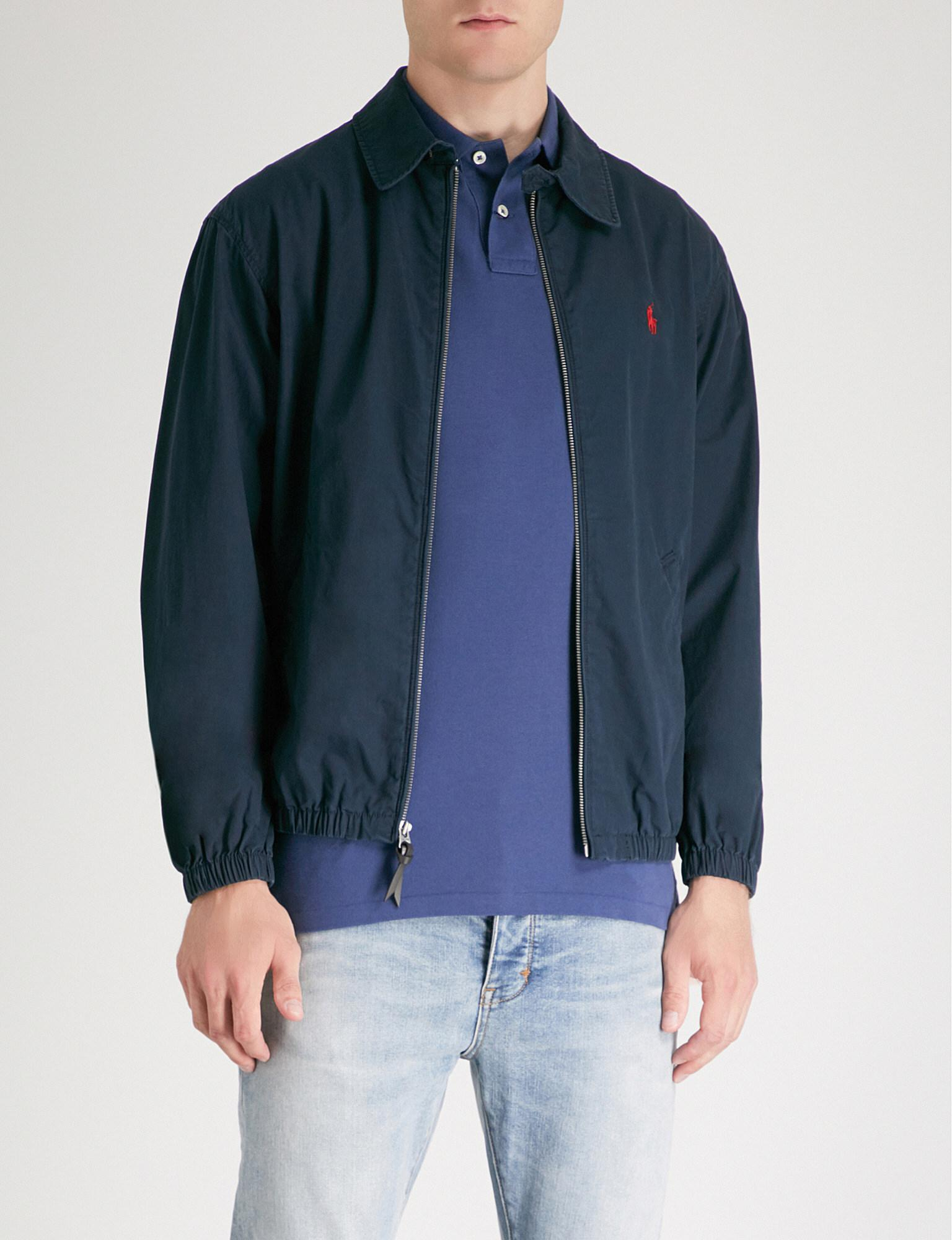 c956c74b Polo Ralph Lauren Bayport Cotton-canvas Jacket in Blue for Men - Lyst