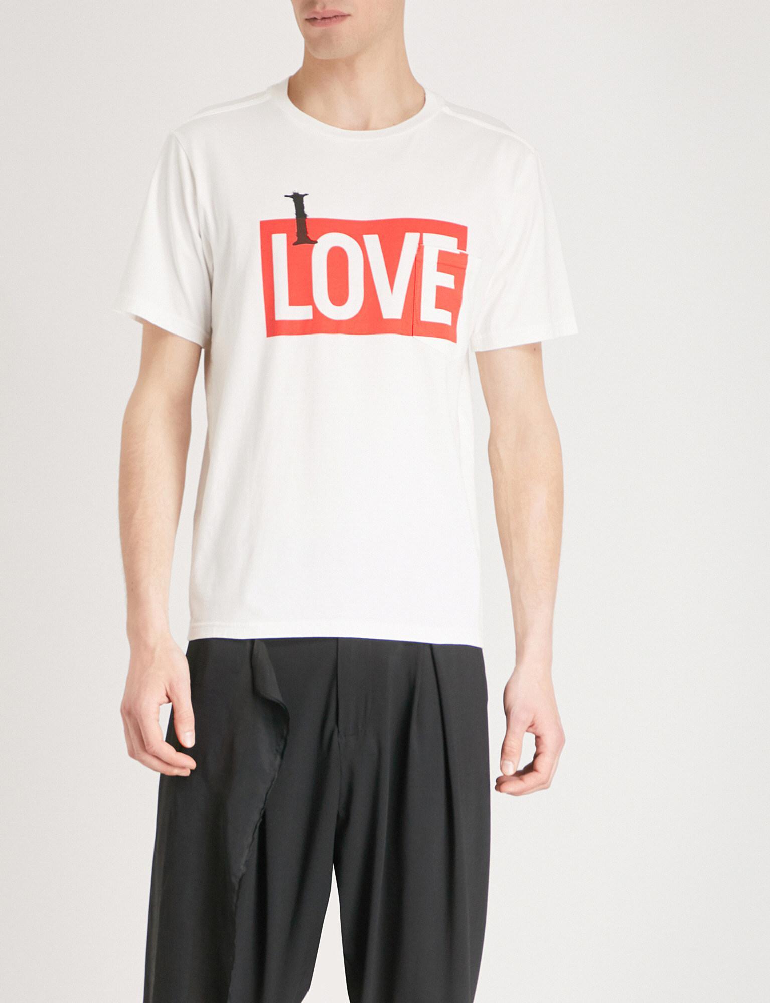 Mens Designer T Shirts Selfridges