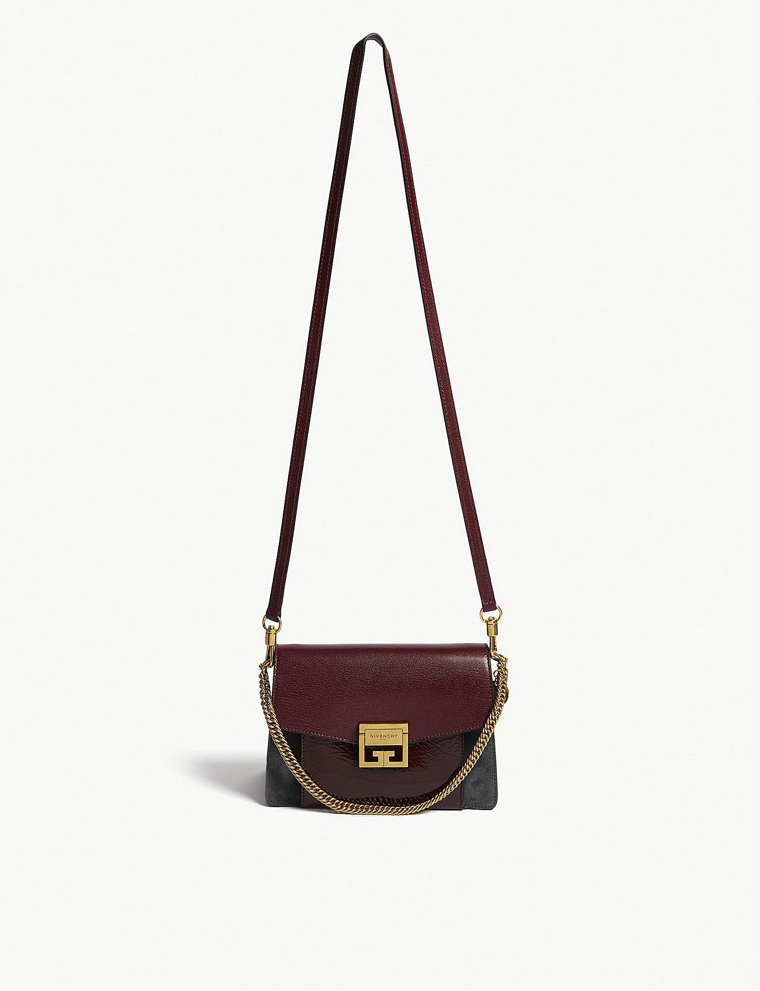 7429a0445cf9 Lyst - Givenchy Ladies Aubergine Purple And Grey Gv3 Leather And ...