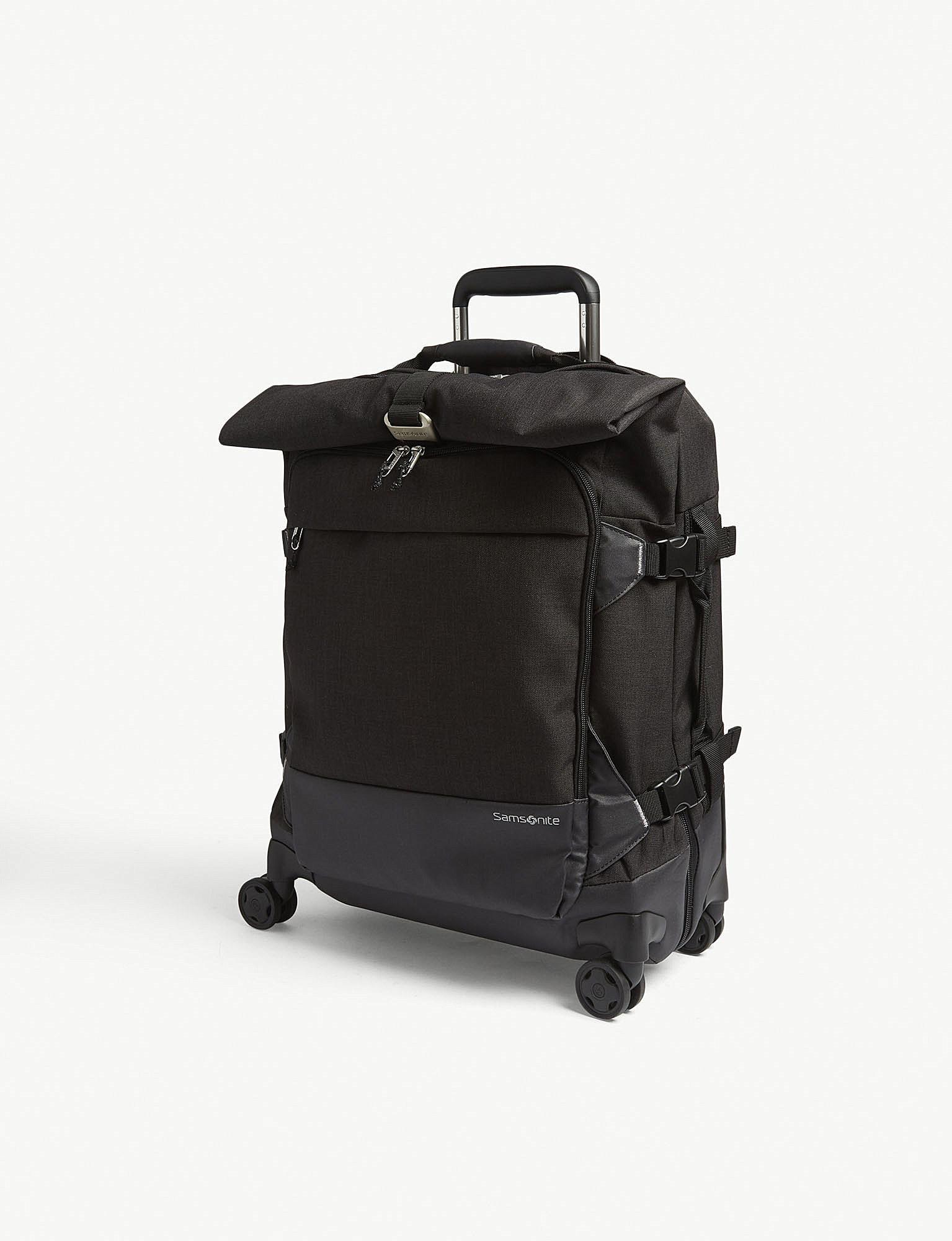 Samsonite - Black Ziproll Eco Two-wheel Duffle Back 55cm for Men - Lyst.  View fullscreen 13c409509e