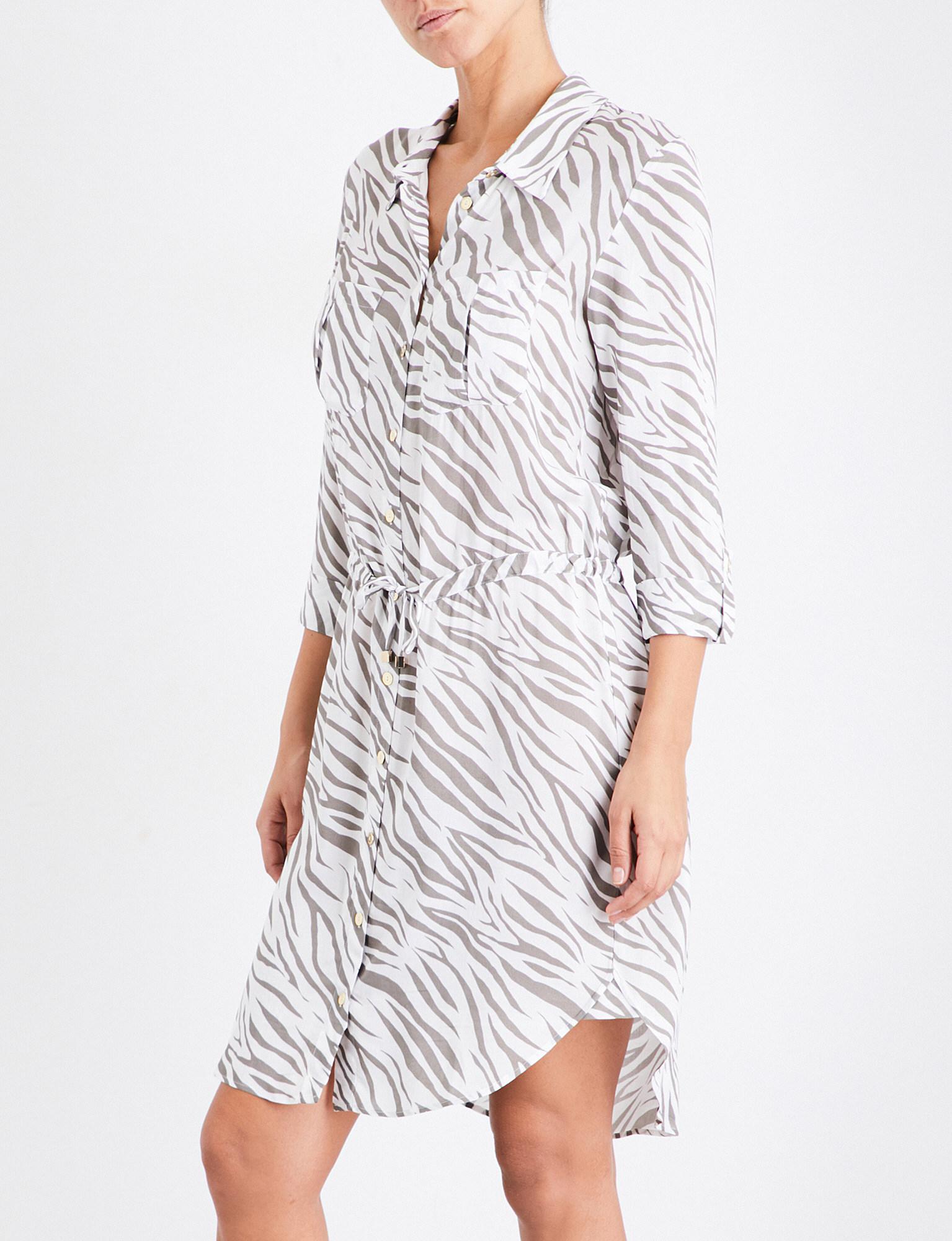 3f9455ec4b Heidi Klein Kalahari Woven Shirt Dress - Lyst